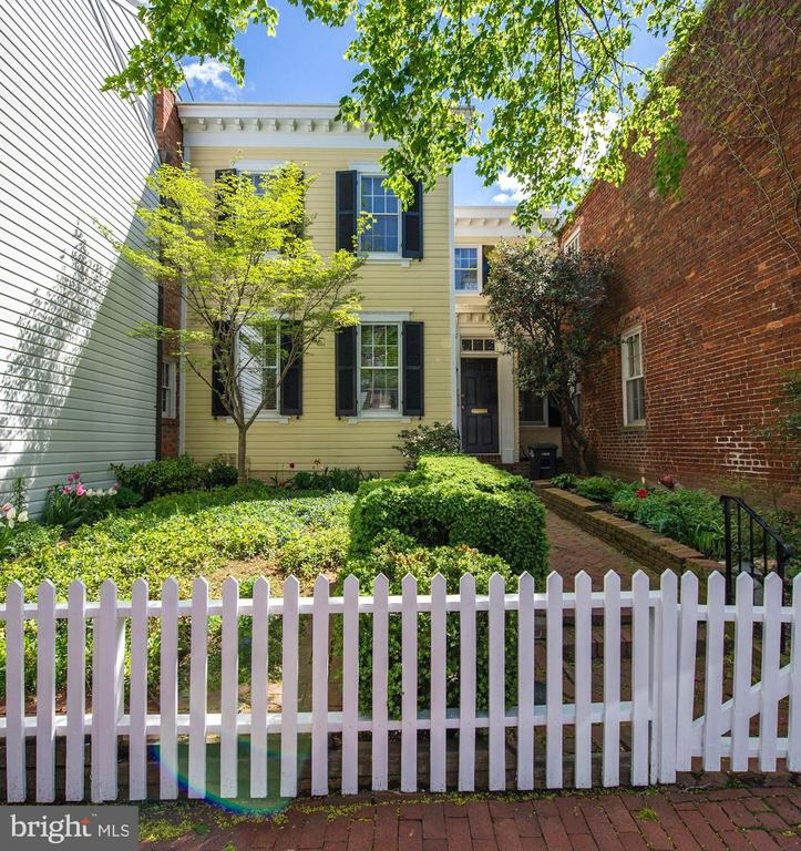 The most charming  home tucked away in Georgetown's West Village. 3BR/2.5BA across two levels, large front and rear gardens, beautifully maintained. Photos coming Monday. Garage Rental Parking available across the street around $200/mo  *PRICED TO SELL* Offer Deadline, Monday 4/15 at 6PM