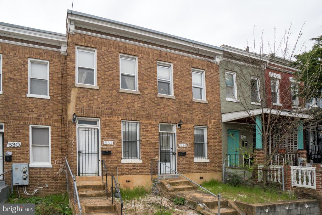 Offers, if any, due Tuesday (04/23) at 6:00PM. Incredible Investor Opportunity in Columbia Heights!  2 Units Only 5 blocks from the Columbia Heights metro! Each unit contains 2 Bedrooms and 1 Bathroom.  Off-Street Parking.  Central Air Conditioning.  Brick building with separate metering and separate unit entrances.  This property is priced to sell and a rare opportunity for DC.  Do not miss out! For more information, please visit www.532-534HobartPlace.com.