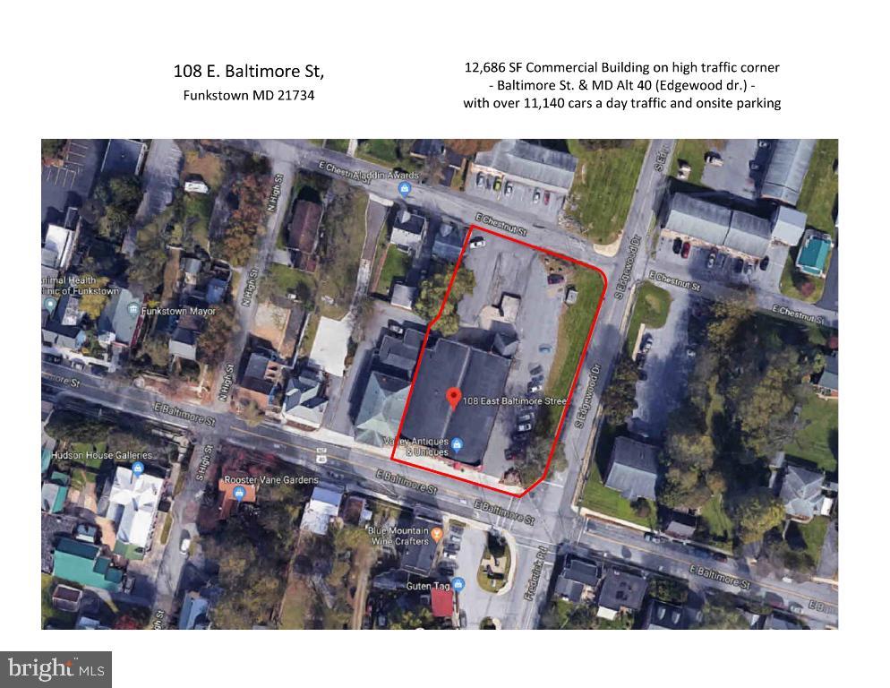 108 E BALTIMORE STREET, FUNKSTOWN, MD 21734