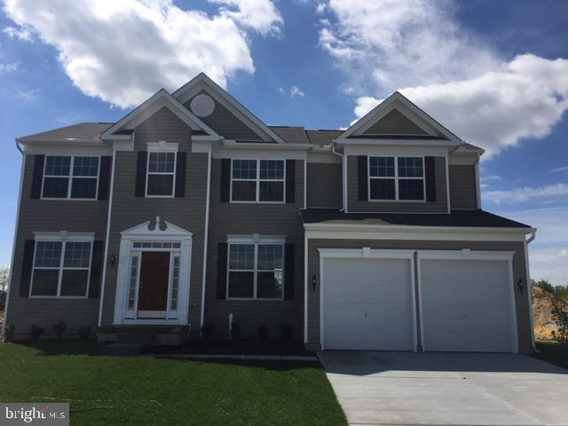New Construction at Chestnut Ridge.  The Delaware model features 4 bedrooms, 3 bath with professional designer selected luxury vinyl plank flooring,  granite counter tops, 2 story family room, finished basement and more. Onsite unlicensed sales agent represents the builder.