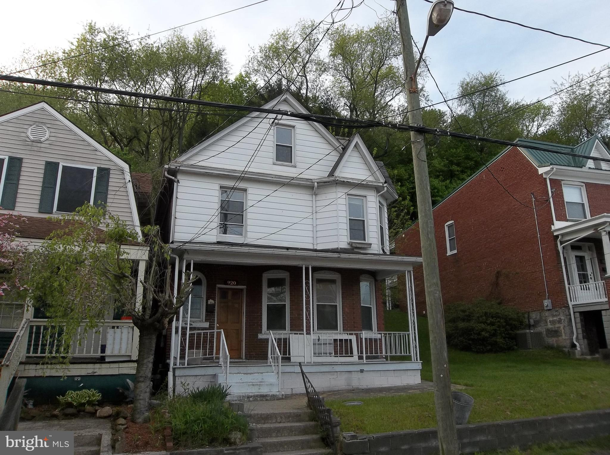 920 Maryland Ave, Cumberland, MD, 21502