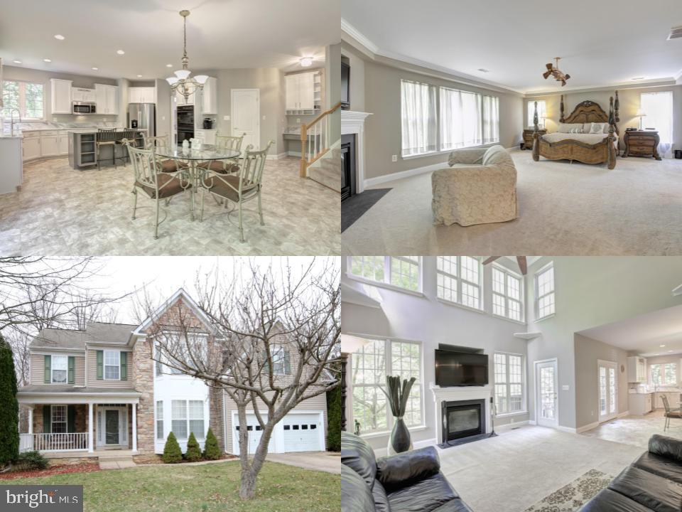 Arousingly stunning stone colonial has exceptional curb appeal in the center of the cul-de-sac!  With careful attention to detail, this home has been maintained and updated.  Spacious and open floor plan allows you to entertain guests while you make a delicious meal in your completely renovated kitchen with brand new appliances, quartzite countertops, and updated cabinets.  Host a neighborhood cook-out during the summertime on your custom deck with a built in hot tub.  Gather around the fireplace in the large living room or for more privacy and seclusion, head up stairs to the fireplace in the master bedroom and Netflix it!  Luxurious 24x17 Master bedroom has every amenity you are looking for!  Sitting area right in front of a fireplace and a spot for a tv, 2 walk in closets, updated bathroom with a stand up shower, tub, double vanity, and brand new cabinets.  Comfortably work from home in your 13x10 office.   Close the double doors for privacy and enjoy the view of your backyard from the 2 oversized windows.  A commuters dream-- you~re minutes from NGA, Fort Belvoir, Pentagon Express/Slug Park and Ride, I-95, and I-395.