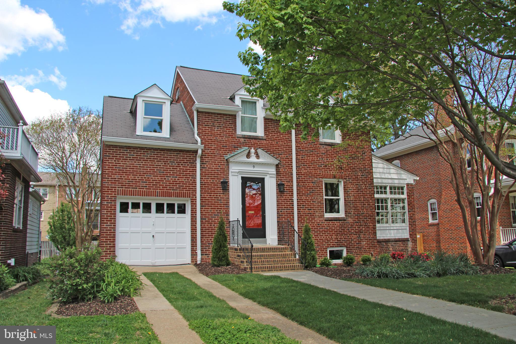 Fabulous location on one of the most desirable streets in Rosemont!  1/2 block to Maury ES, 1 block to Grape & Bean, and an easy 10 minute walk to OT and King Street Metro.  This charming & classic Rosemont brick colonial, on a fully landscaped 6,600 sf lot, boasts 3 BRs, 2 BAs, and a GARAGE! There is plenty of room for future expansion.  The gleaming hardwood floors, built-in cabinetry in the dining room, and flagstone floor in the sun room harken back to another era.  Completely updated inside and out with a new gas boiler and water heater, new chimney liner and damper, rebuilt backporch, repointed steps, new sidewalk, new LED recessed lighting in the kitchen, and, well, too many updates to list here.   This home is ready for you to move right in and focus on what you would like to do to make it uniquely yours.