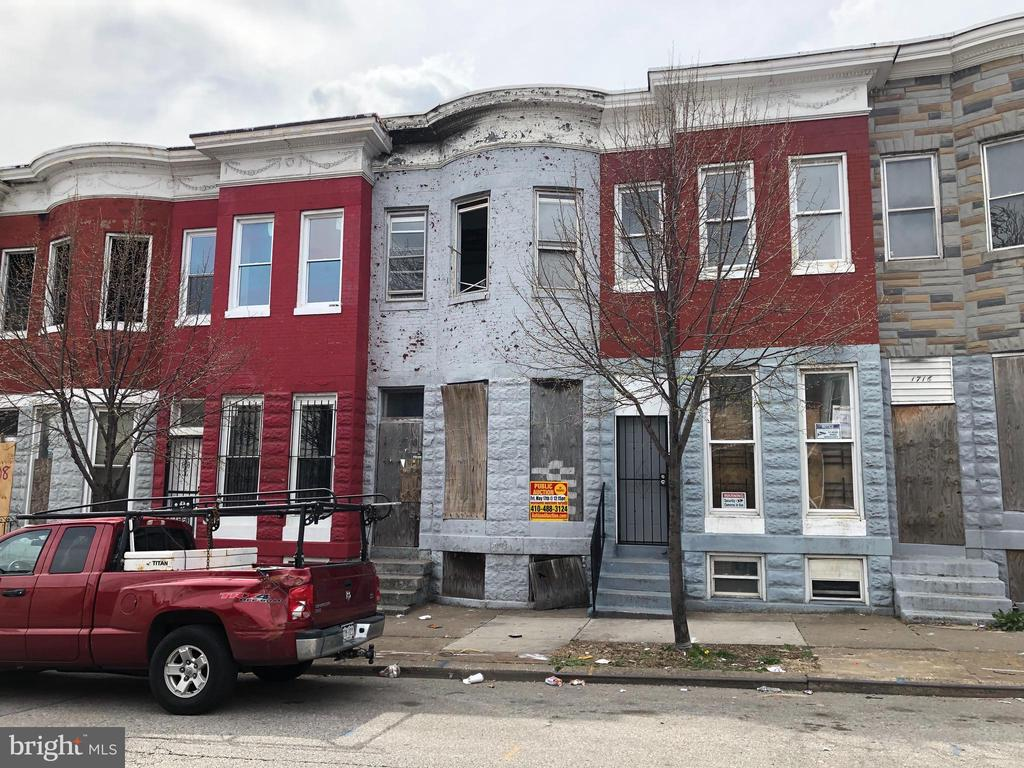 BUY NOW` POST AUCTION  2 Story Townhome in Sandtown-Winchester. Property is Vacant. 10% Buyer's Premium. Deposit $2,000. For full Terms and Conditions contact auctioneer~s office.