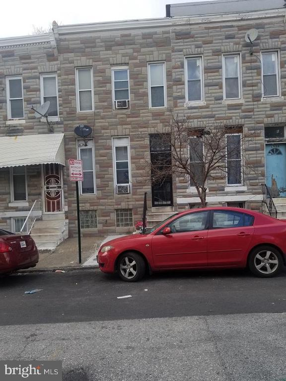 Back on the market, buyer got cold feet.  Great investment opportunity.  Located close to public transit and MARC station.  This is a true 3 bedroom, all 3 bedrooms have proper windows.  Property is occupied so 24 hours notice would be great.  Long term tenants on month to month lease. Rent set at $825.