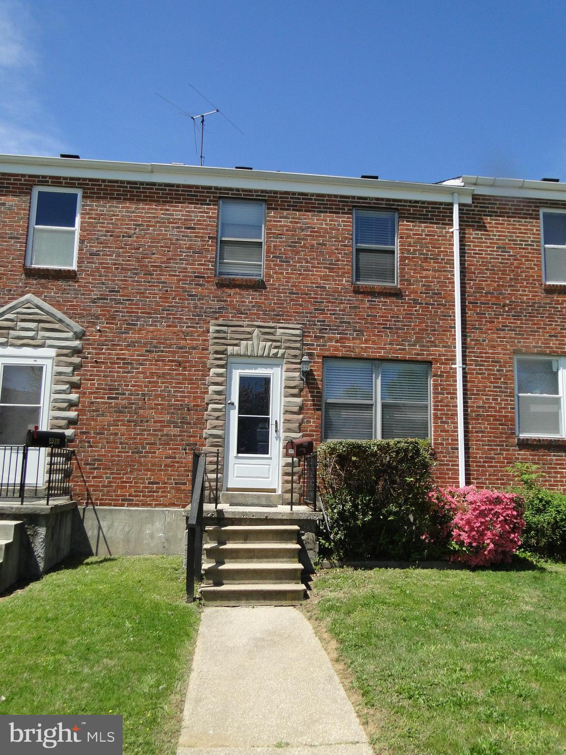 3 Bedroom all brick home with gleaming hardwood floors and fresh paint make this home move in ready . All major systems updated .  Parking space off alley leads to kitchen. Close to shopping and convenience centers