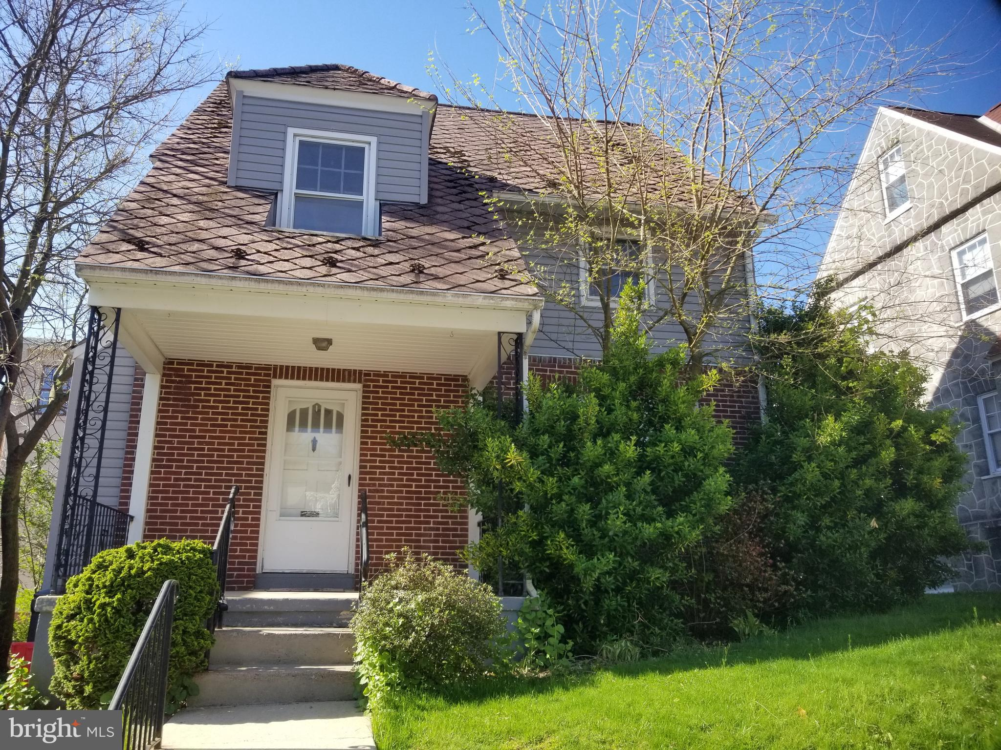 Classic 3-4 bedroom two story, freshly painted interior, hardwood floors, front and rear porches,off street parking. Quick possession. $129,900