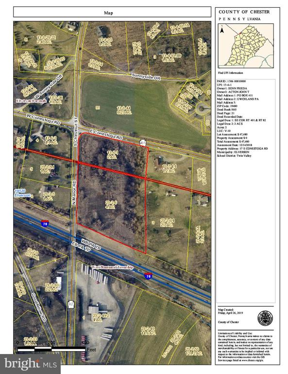 Two parcels totaling 6 acres in great location