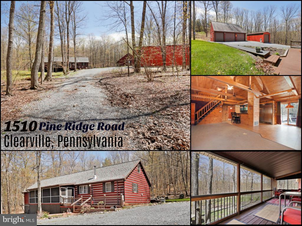 1510 PINE RIDGE ROAD, CLEARVILLE, PA 15535