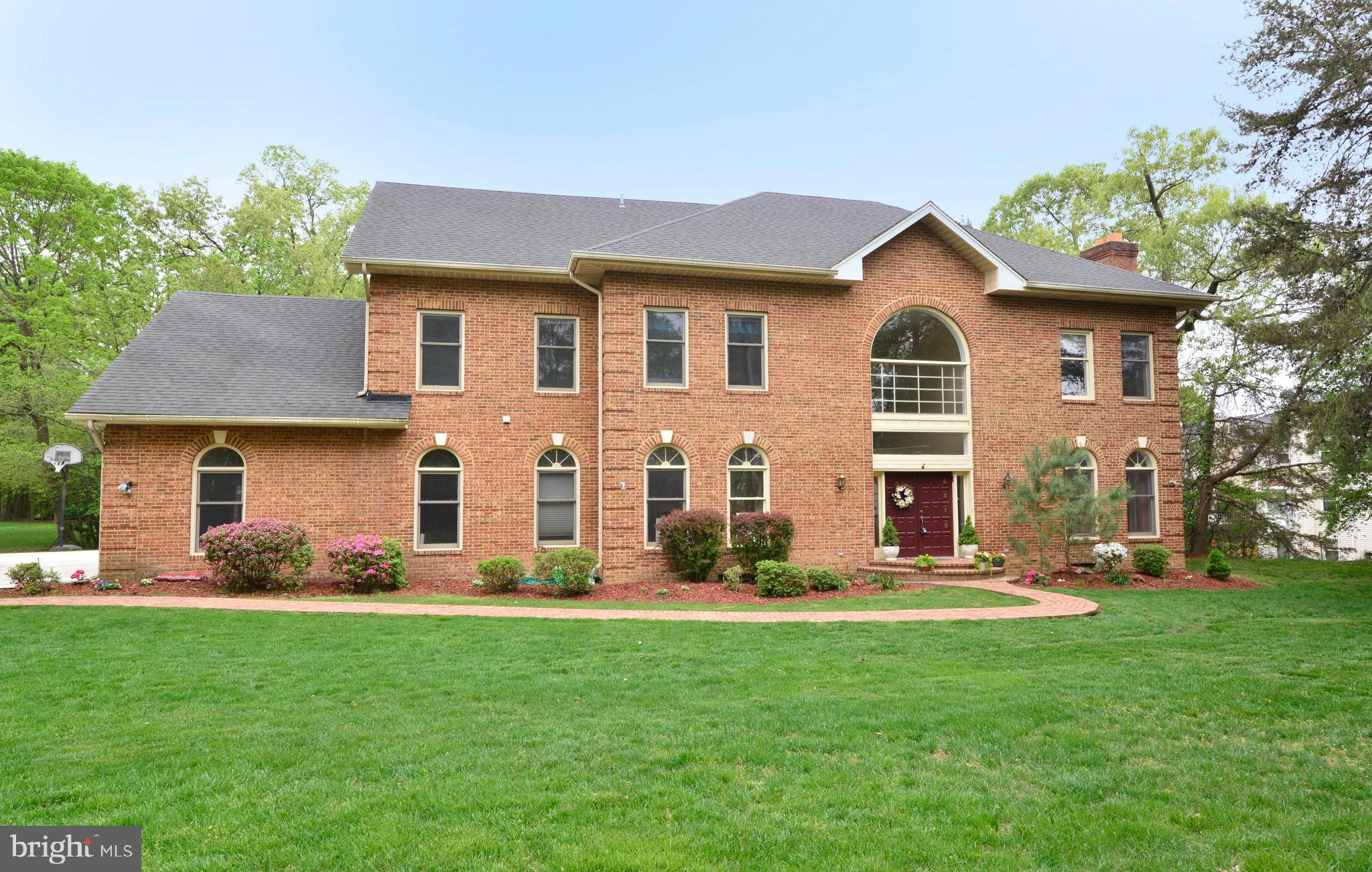 Secluded 1 Acre 6000+ Sq Ft 5BR/4.5BA Home at End of Private Road in Kingstowne area! Highly rare to find this privacy, peace & quiet in a location like this: