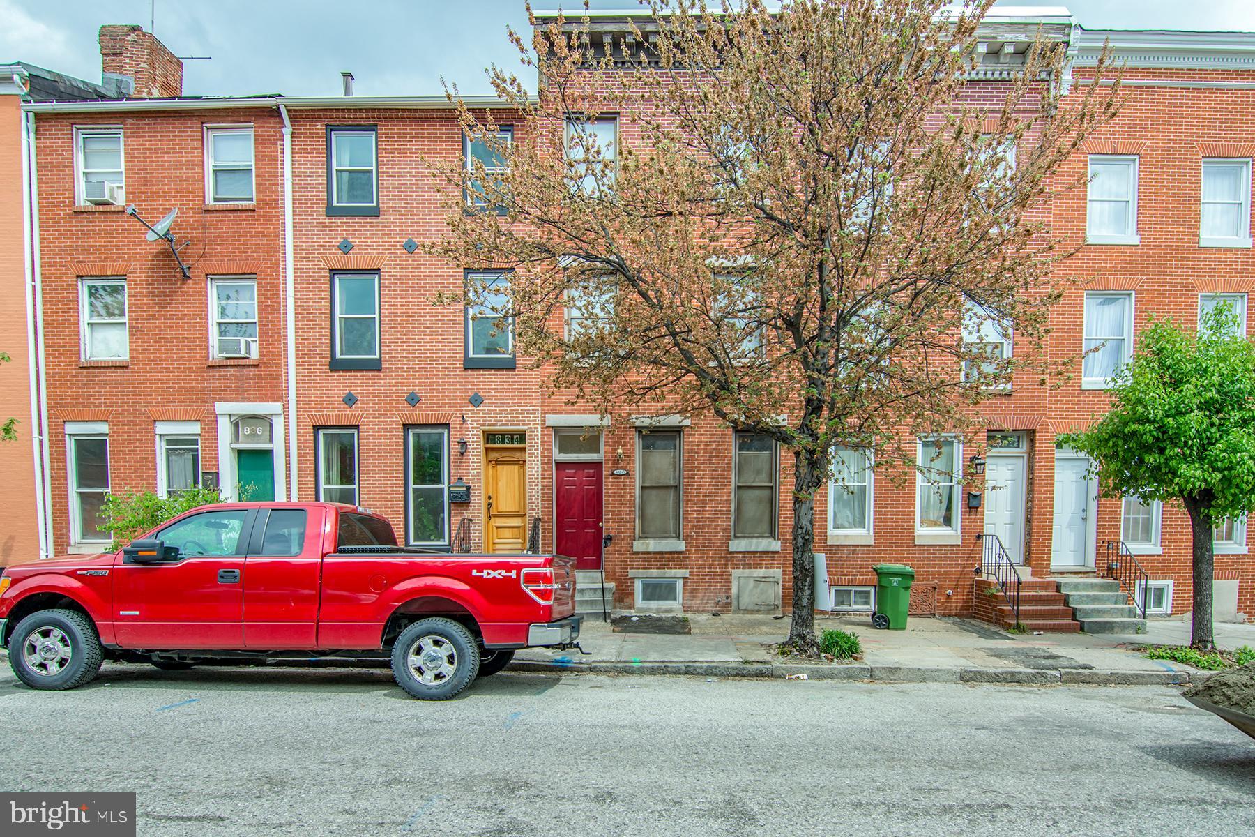 832.5 W LOMBARD STREET, BALTIMORE, MD 21201