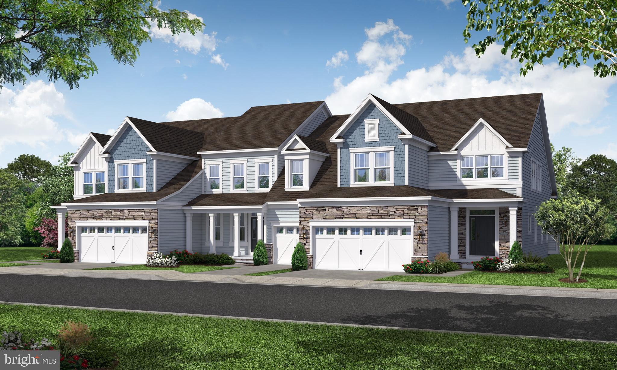 The Redford I  Model.  Welcome to the Ponds at Bayberry, New Castle County's Newest 55+ Community!  Just 1 mile to Route 1 and just 15 minutes to the Christiana Mall, Delaware Park, and Christiana Hospital.  Bayberry Town Center and amenities complex with clubhouse and outdoor pool!  The Ponds at Bayberry features maintenance-free living, with grass cutting, trash, and snow plowing taken care of.  A new standard for combining elegant design with ultimate practicability, the Redford I features a spacious, open floor pan designed for care free and casual living.  The light filled great room and expansive kitchen with a center island are flanked with a dining room perfect for dinner parties.  Ample floor space is devoted to the 1st floor Owners suite, complete with large walk in closet and luxurious owners bath.  Stairs leading to 2nd floor to an open loft area for casual living area.  This is a to-be built home.
