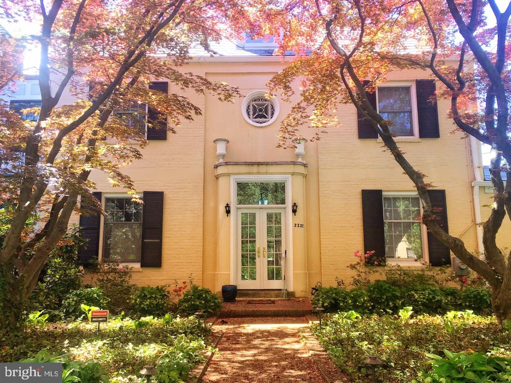 OPEN HOUSE Sat.  & Sun. MAY 11 &12th, 1-4.  An end unit on one of Washington's prettiest streets! Perched at the foot of the National Cathedral surrounded by DC's finest public and private schools!  Recent kitchen and bathroom upgrades, new rear deck and landscaping improvements, formal entry hall w/ winding staircase, living room w/ fireplace & sun room beyond, separate dining rm adjacent  stainless and granite kitchen.  Two upper floors w/ 3 bedrooms & 2 baths.Sellers reserve the right to accept/reject any offer at any time.  Sellers plan to review offers after 6 PM, Thursday  5/16/19