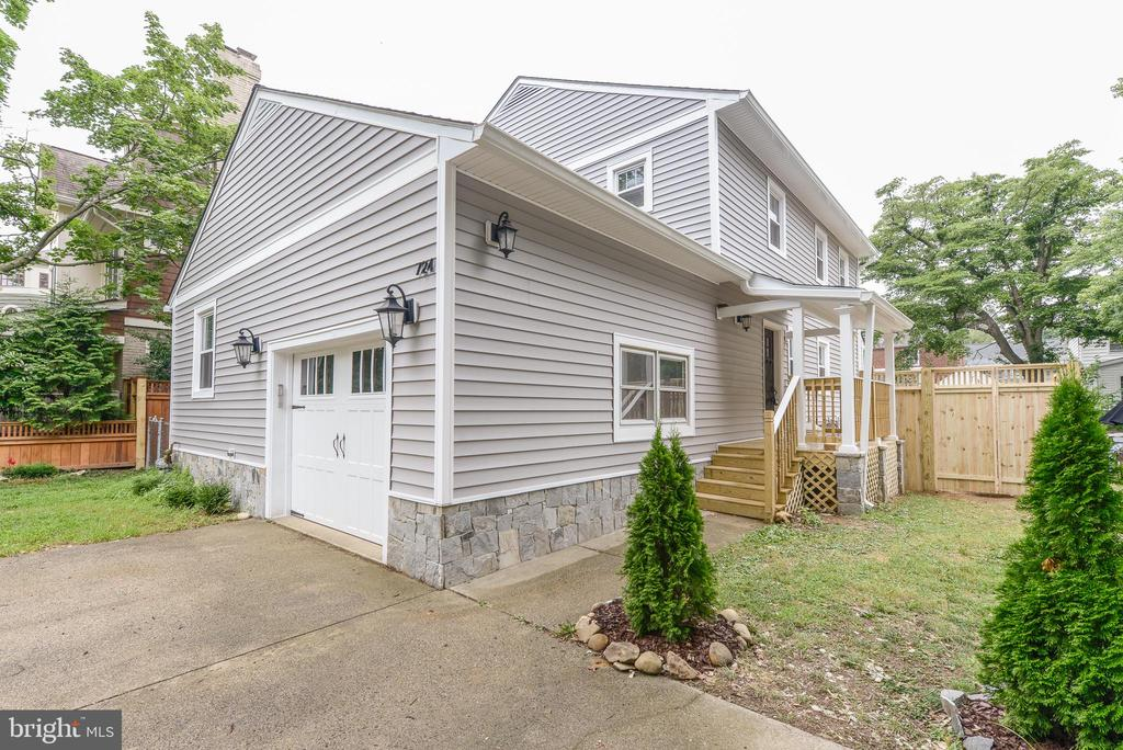 Hidden Gem in Lyon Park! Attention to detail is unmatched. Gorgeous Wood Floors throughout. Craftsman-style doors. Bathrooms which will take your breath away. Kitchen leads to family room and is perfect for entertaining. Enjoy your own private oasis in the rear yard with large deck, new fencing, and plenty of space for play. Storage space galore! Close to Metro! Unbelievable location! Must See!  Lease Term negotiable 12-36 months
