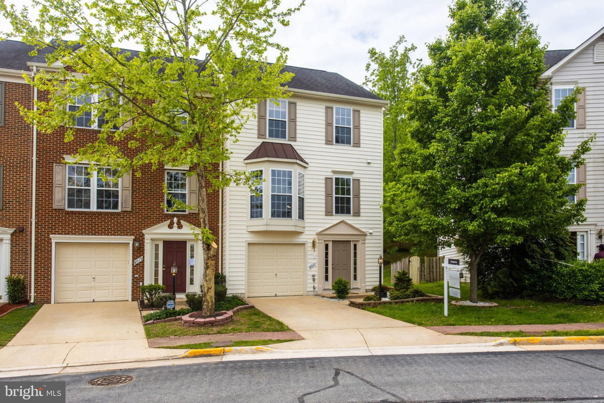 Stunning 3 Level w/Extension, 1 Car Garage, End Unit Townhome in Lorton Station!  Main level features hardwood flooring. Large gourmet kitchen w/ center island & backsplash. Remodeled bathrooms w/ granite counters. Custom lighting fans, Large recreation area,  media room or office are in basement. Bump out area could be used as 4th bedroom w/ custom sliding glass doors. Home equipped w/ Bose surround sound. Brand new carpet on the basement and bedroom level. Deck & Fenced in Yard. **Convenient to VRE, 95 & Shopping.