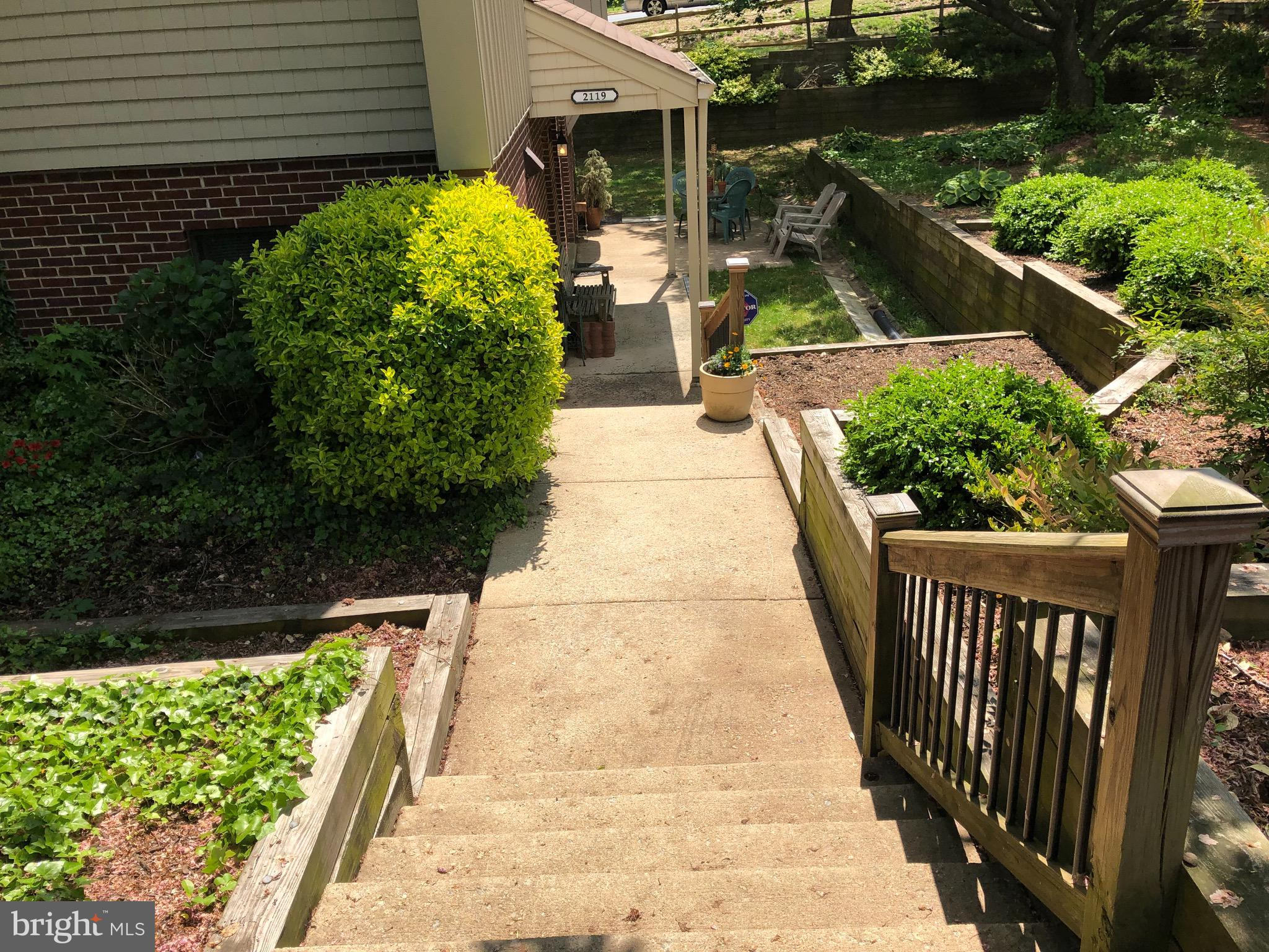 Rarely available and very spacious 2 Bedrooms, 2 baths condo, in the sought after Rippon Landing Neighborhood.  Large living room with a masonry wall, fireplace, and sliding doors to patio.  Private entrance. Perfect home for those looking for 1 level living with all the amenities. Kitchen with granite countertops, upgraded cabinets, and pantry.  Washer & dryer in unit. All water pipes and HVAC replaced. Master suite with 2 large closets and a lot of storage space.  Condo fee includes water, sewer, trash, outside maintenance, management, and master insurance.  HOA pays for Community pool, tennis, jogging trails and community landscaping.  2 assigned parking spots and plenty of visitors parking spaces. Excellent location!  Easy access to VRE rail station, I95, and Rt1.  Near Northern Virginia Community College - Woodbridge Campus.  Enjoy dining and shopping at Stonebridge at Potomac Town Center. Condo is not FHA approved.