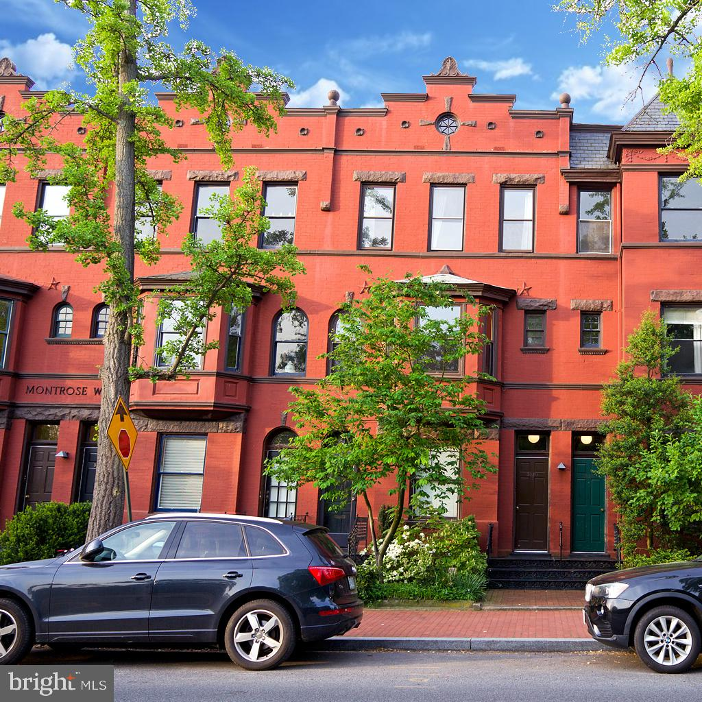 This turnkey, light-flooded, 2BR, 1BA, pet friendly penthouse is housed in a Victorian boutique building. Unit #3 at 3020 R St NW at Montrose Walk is your respite in the city offering you a European sensibility, accessibility to farmers' markets, and a view of the lush Montrose Park right outside your living room windows. This expansive penthouse unit is grounded with restored original hardwoods, boasts tall ceilings, and floods with light from the park-view windows and skylight. The condo features custom cabinetry, stainless steel appliances, granite counter tops, and travertine floor tiles in the kitchen; Carrara marble and brushed nickel fixtures in the bath; and Elfa storage systems. Adding to the wide floor-to-ceiling closets in both bedrooms, the condo has a coat closet, a linen closet, kitchen pantry, and a spacious storage closet. The condo is set just across the street from Montrose Park that features a playground, tennis courts, and ample space for dogs to play. Montrose Walk is close to the Dumbarton Oaks Park and Rock Creek Park hiking trails, as well as the Georgetown Waterfront. The central location makes for easy accessibility to public transportation, grocery stores, museums, hospitals, public library, restaurants and shops.