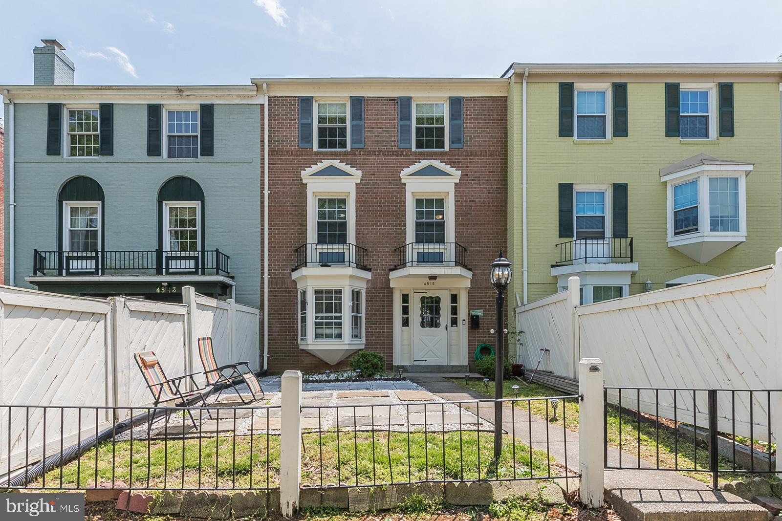 Beautiful & spacious town home featuring 3 finished levels, renovated kitchen w/ granite countertops, 4 bedrooms, 3 baths, hardwood floors on the main level, an open floor plan, a fenced in rear yard and front yard with your own private 2 car driveway overlooking the park and backing up to the tot lot/playground. Just mins from Old Town Alexandria.