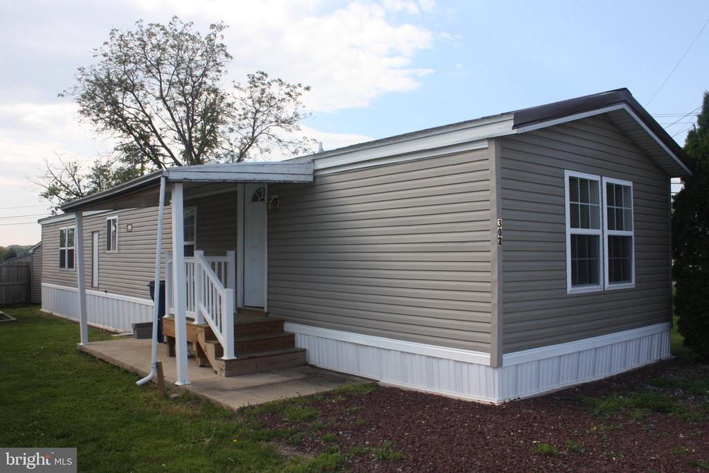 Completely remodeled 14x70 mobile home. New kitchen, appliances, flooring, roof, windows, propane furnace and central air. Located in Millcreek Estates Mobile Home Park. Park approval required. Contact Toni Kelley at Millcreek Estates, (717) 355-9491 for park questions. Lot rent $482/mo includes cable, internet, trash and snow removal of community streets.
