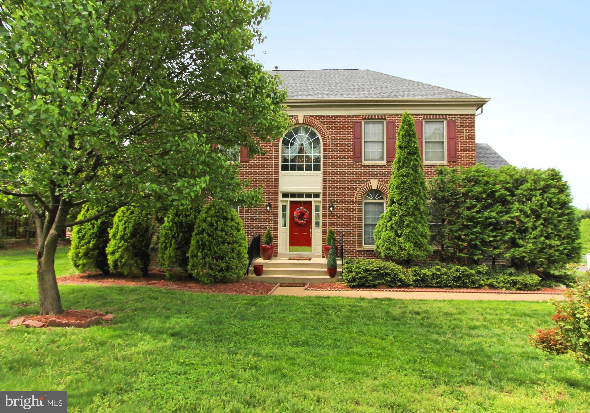 Welcome to 6221 Jean Louise Way in Alexandria, Virginia! Nestled in the sought-after Valley View Manor community, this beautiful 6 bedrooms, 4.5 bath Colebrook model luxury home delivers plenty of interior space, (more than 5,000 sq.ft ) and a .34 acre lot ideally situated on a quiet side street. A stately brick facade, 2-car side-loading garage, expert landscaping, an open floor plan, high ceilings, hardwood floors, dual staircases, fireplace, custom moldings, and an abundance of windows and skylights, an office in the main level. It has new roof and plenty of storage space in the basement. All these can be found in a peaceful community with close proximity to I-95, the Beltway, Braddock Road, 2 Metro stations, and Route 236. Plenty of shopping, dining, and entertainment choices are available in every direction or you can explore the dozens of parks sprinkled across the area, there is something here for everyone. For an exceptional home built with high-end finishing touches and distinguished charm, you have found it. Welcome home!