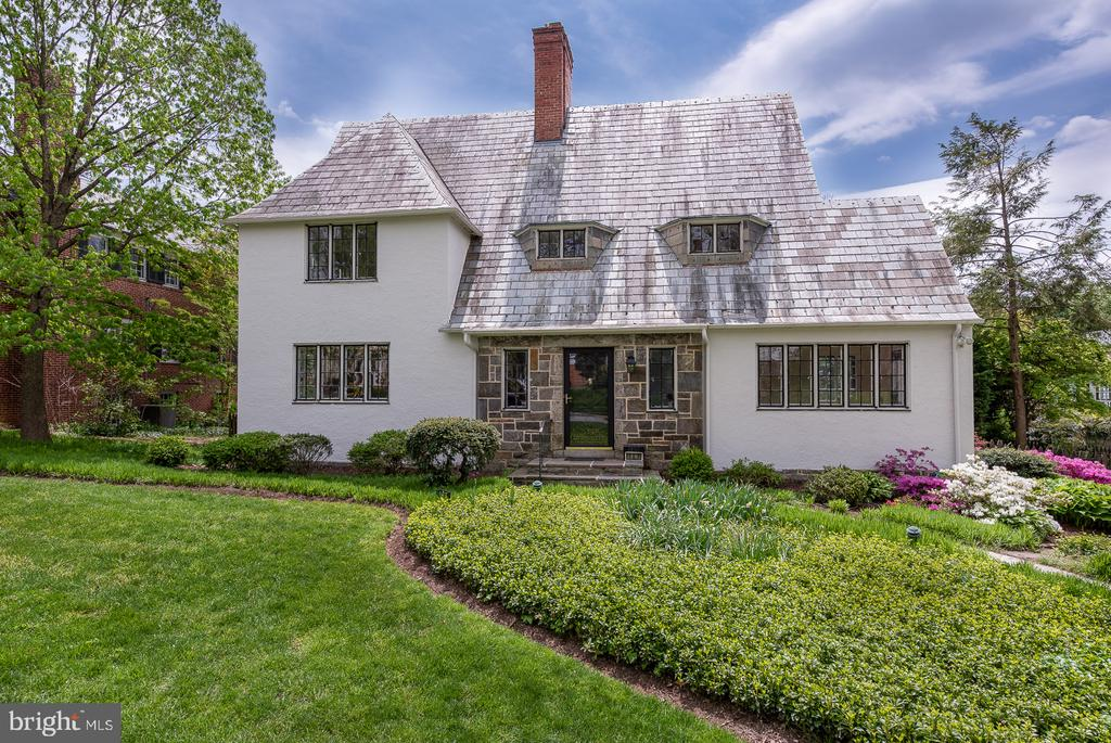 ONLINE APPLICATION @ http://www.longandfoster.com/rentals/107-Upnor-Road-Baltimore-MD-21212-281680083.  Click on link above agent picture. This picturesque beautiful stucco and stone 1935 English Cotswold style home is on one of the sought after 100 blocks in Homeland and has much to offer. This traditional classic home has been beautifully upgraded and maintained. You enter into the large welcoming foyer of this classic home with easy access to the living room with a wood burning fireplace and built-ins or to the formal dining room with elegant features or to the second and third floors via a wide comfortable staircase and wide hallways. There are wonderful built-ins flanking the sides of the fireplace in the living room and in the family room. There is a secluded stone terrace for outdoor living and a fenced-in backyard. The home has a wonderful circular floor plan on the main living with two entries into and from the living room, dining room, kitchen and sunroom. The gourmet kitchen has custom cabinets with high-end appliances, granite countertops, a wet bar and easy access to the multipurpose sunroom and separate family room. The house has many great finishes and upgraded bathrooms, one with a large steam shower and one with a spa tub. Three of the four bathrooms are ensuite bathrooms. The house has recessed lighting and updated systems. Homeland National Historic District is one of the finest historic neighborhoods in Baltimore and is highly sought after for classic and distinctive architecture and its convenience to schools, universities, shopping, restaurants and access to downtown or the suburbs.  There are wonderful public areas within the neighborhood centered around the lakes along Springlake Road and Saint Albans Road and a large park area used for neighborhood activities during the summer months.