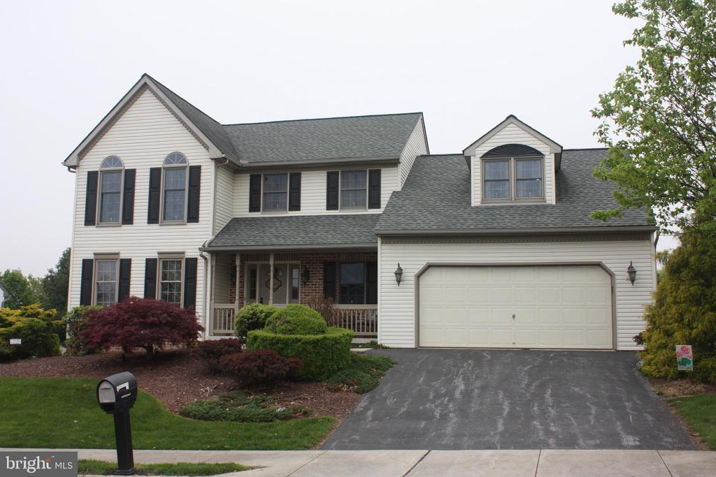 Outstanding 2 story in Bowmansville Area. This 4 bedroom, 2 1/2 bath house has been beautifully maintained. Formal living room w/fireplace (electric insert), lovely kitchen w/island, metallic bask splash, breakfast area & luxury vinyl plank flooring. 1st floor family room, master bedroom w/vaulted ceiling & master bath. Spacious bedrooms. Great back yard w/covered deck, sun deck, above ground pool & patio. This house has so many great features! Must see!