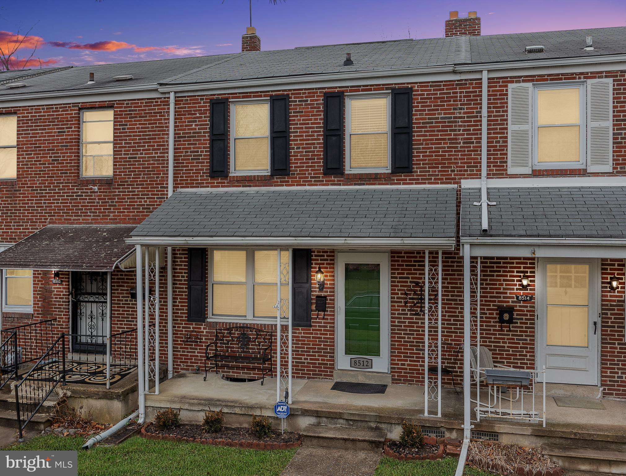 Come see this move in ready townhome in Ridgeleigh! Hardwood floors throughout, ceramic tile in bathroom. Newer stove, refrigerator, and microwave. Unfinished basement with space for laundry and storage. Sump  Pump and French Drain. New exterior door. Newer fixtures throughout. Fresh paint in Kitchen.