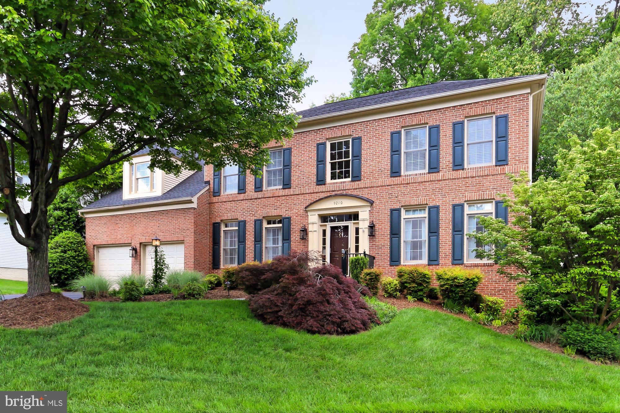 "Fantastic 4/5 bedroom brick Colonial in the super-hot Barrington neighborhood of Fairfax Station!  This gorgeous one owner home, on a private cul-de-sac shows pride of ownership throughout and boasts 4 large bedrooms, 4 and 1/2 baths, upgraded gourmet kitchen with solid cherry cabinets, granite countertops, and stainless steel appliances.  Custom moldings and trim features throughout.  Two fireplaces, and beautiful features such as hardwood flooring and custom paint colors.  In the basement, you'll see a wonderfully large, fully finished recreation area with walkout, perfect for family, friends and entertaining.  As a bonus, there is a workshop for the ""handy-person"" or mechanically inclined!  Finally this beautiful home is nestled on a treed, very private lot that offers a backyard oasis to relax and get away and includes stone patio with pre-wired area for hot tub, and fantastic deck for your enjoyment!  This neighborhood is highly sought-after and the location is great, including outstanding schools and shopping.  Walk or bike to County trail system and Lake Mercer.   This house will not last!"