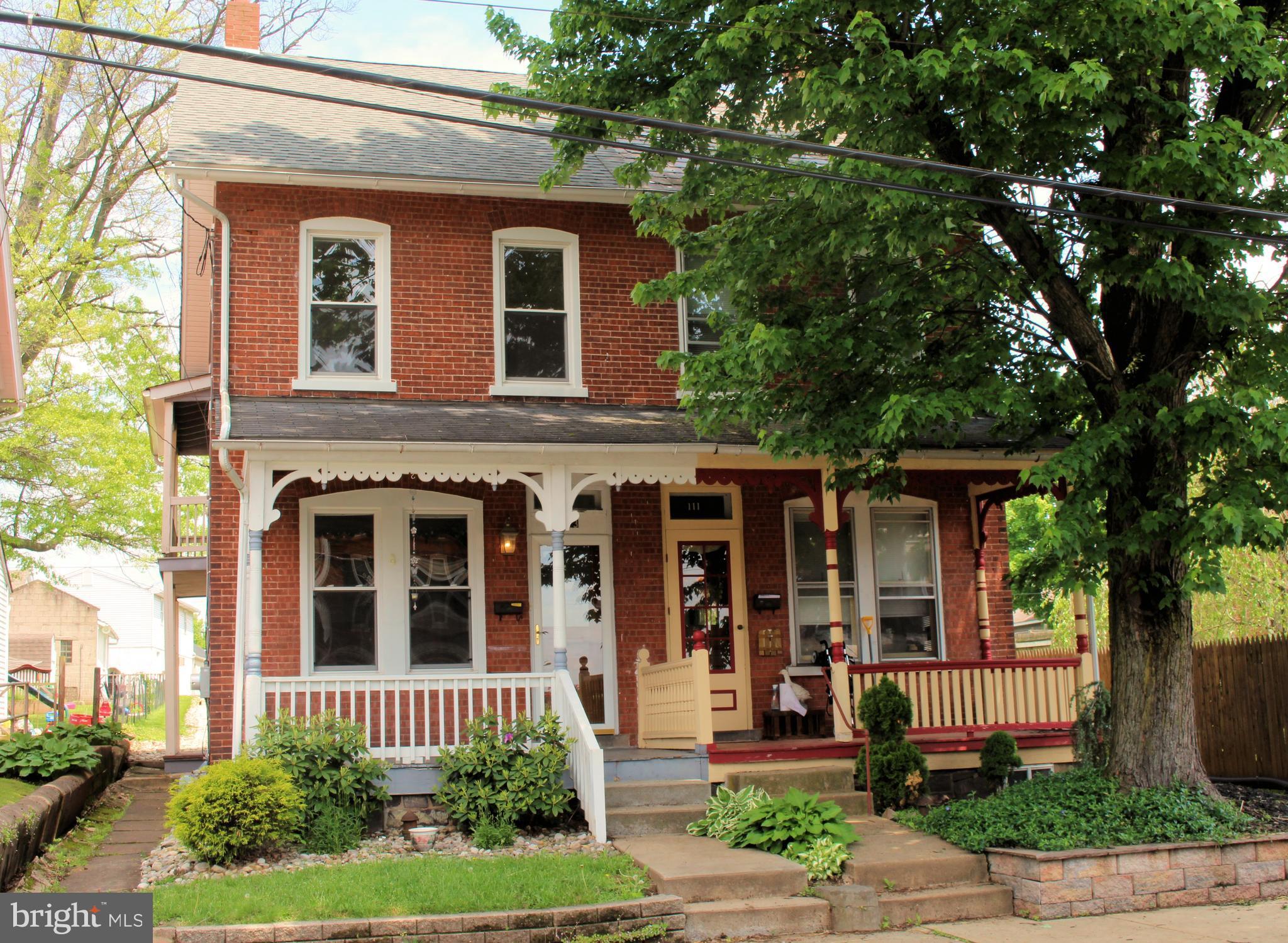 113 JEFFERSON STREET, EAST GREENVILLE, PA 18041