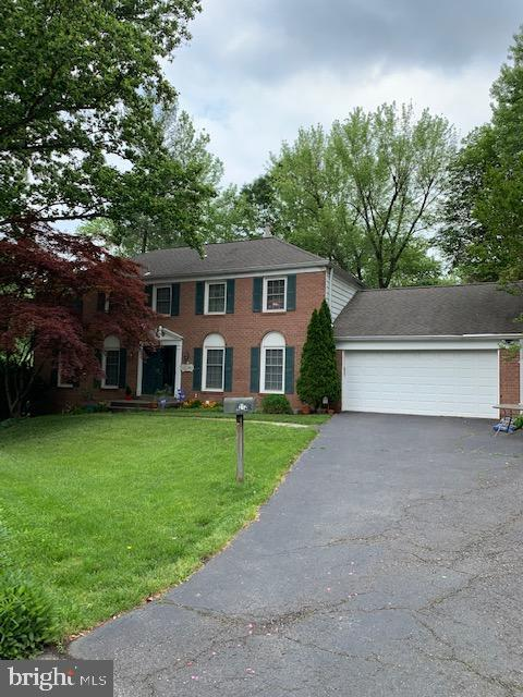 Classic Center Hall Colonial with 3 finished levels, 4 bedrooms up, 2.5 baths, kitchen, family room, granite, wood floors on 2 levels, everything in great condition and finished basement with walk out to large fenced in backyard.  Certain areas of the home will be painted as well.  Owners will accept dogs only.  More photos to be uploaded once Owner vacates property.