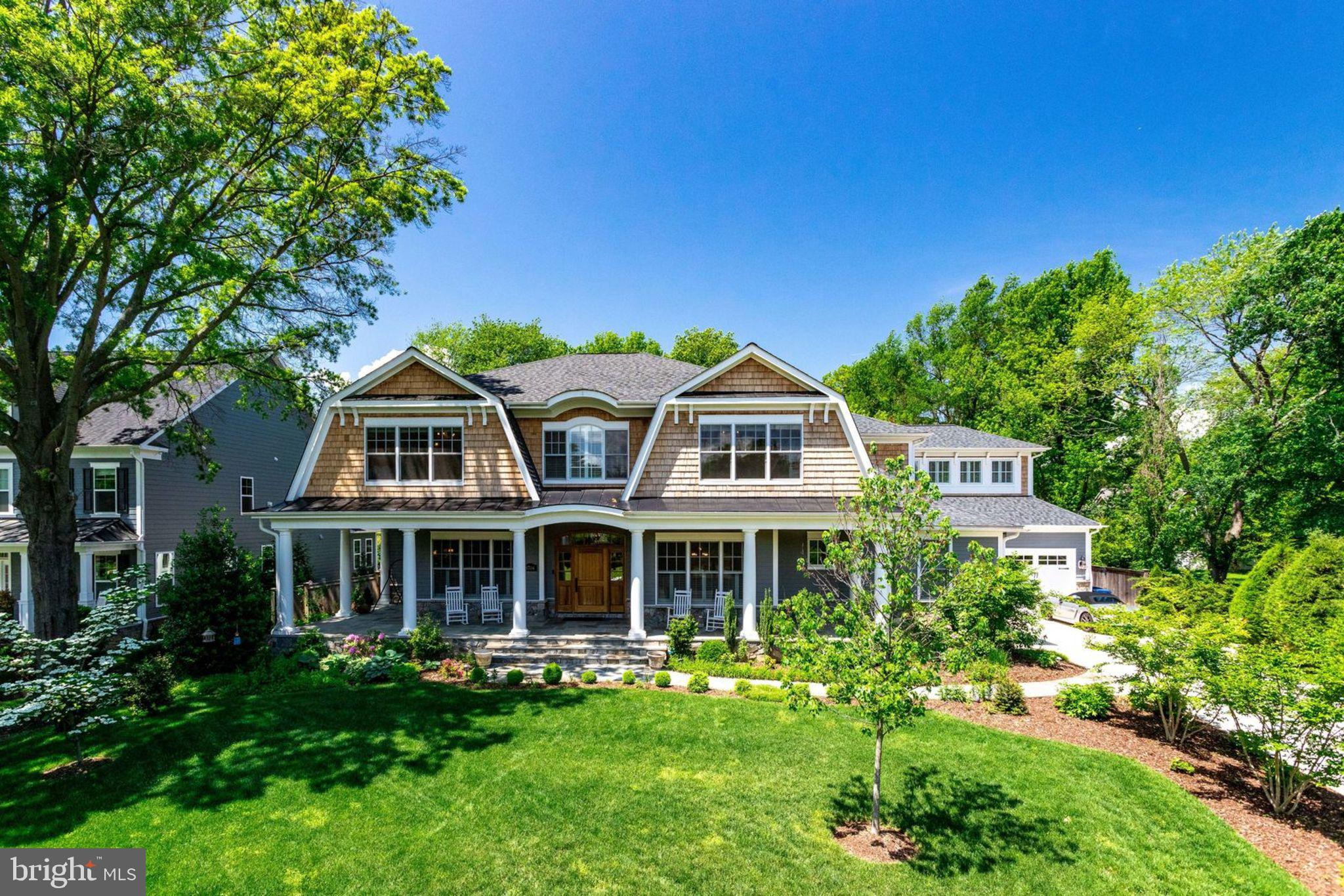 Custom built home with incomparable quality.  From the exquiste moldings to the custom cabinetry and walk in wine cellar.  Nothing like it in the area.  Sitting on 2/3 acre, the home encompasses Nantucket with its custom exterior and large well ppointed rooms.