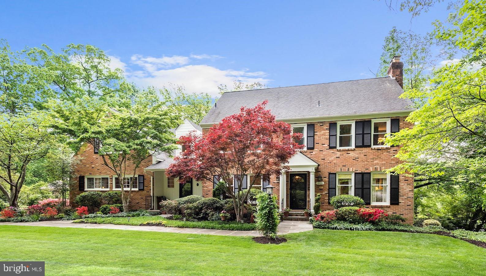 Located in the Belle Rive section of Mt Vernon, this beautiful and stately colonial not only offers elegant and casual living but also a garden that creates a private oasis just minutes from DC, Old Town and Arlington. It sits on a quiet cul-de-sac and features 5 bedrooms with a Master Suite and a lower level suite for a guest, in-law or nanny. The main floor features an expansive formal living and dining room for entertaining and a two-story family room off the kitchen for family enjoyment and gatherings. Upper level has four bedrooms with in-room sinks and large closets. Extra living space includes two office/libraries, a loft as well as a great room for family night games and media entertainment. This house has been meticulously maintained with upgrades and renovations over the years. Neutral colors abound throughout the home making it move-in ready!