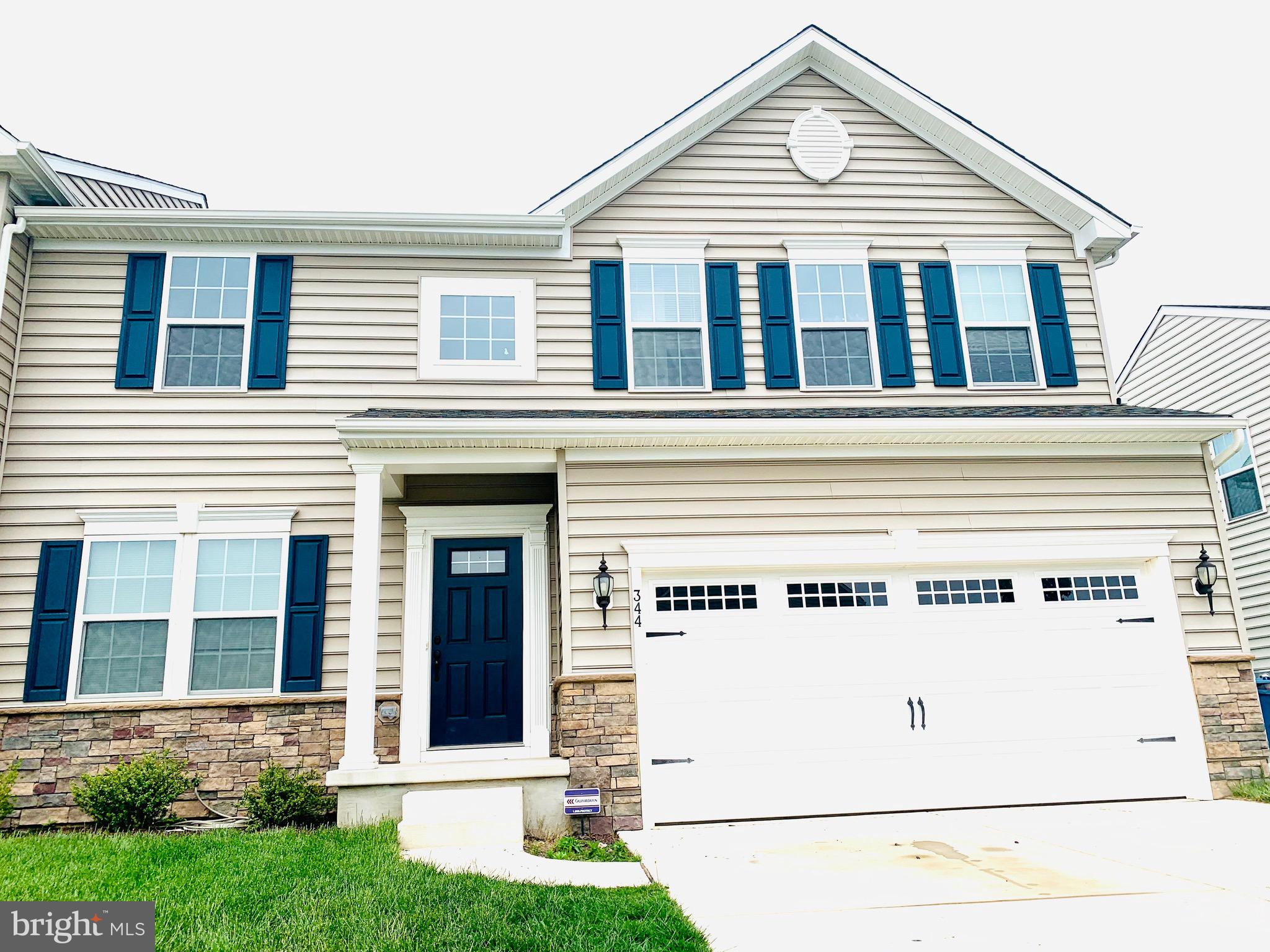 Welcome to High Hook Farms!!  This barely 3 year old Semi-detached Venice model is one of Ryan Homes most popular floor plans! Upon entry, you are greeted by a flex space that can be used for a formal living area or office. Just beyond the flex room is a powder room to your right for your guests convenience! Beyond the powder room, this home opens up to a LARGE great room that is open to the dining room and open kitchen. Upstairs, there is a large Master with a HUGE walk-in closet, with a 4 piece bath that includes a soaker tub, stand up shower and double sinks! The guest rooms are also very large for a carriage home and there is even UPSTAIRS LAUNDRY for the families convenience. Make your way to the basement and enjoy a Large finished space that can accommodate your families entertainment and recreational needs. There is also a spacious unfinished section in the basement that can be used to add an additional bath or in law suite. This homes boasts 4 large bedrooms, an open floor plan, a fully finished basement, PAVER PATIO, 2 car garage and a large playground for children in the community. This home is just minutes from rt1 and shopping and best of all it is in Delaware's #1 School District, Appoquinimink! Make this your new home TODAY!!