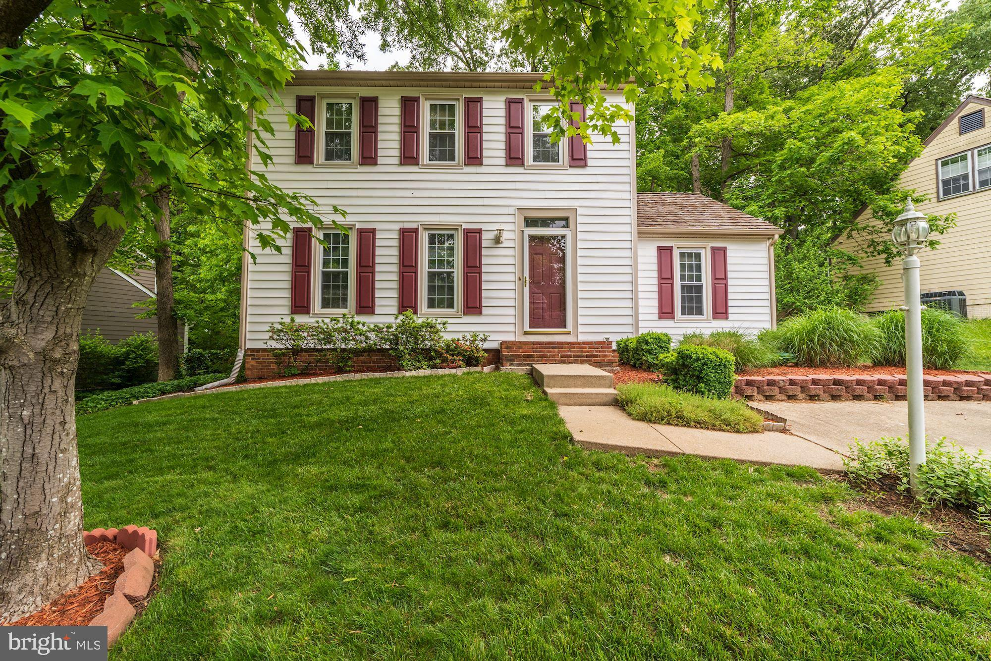 Beautiful colonial style home. Close to parks, playgrounds, and amenities. There are three finished levels. Fourth bed is in the basement. House has park like setting and backyard with deck. Reduced to 10k.