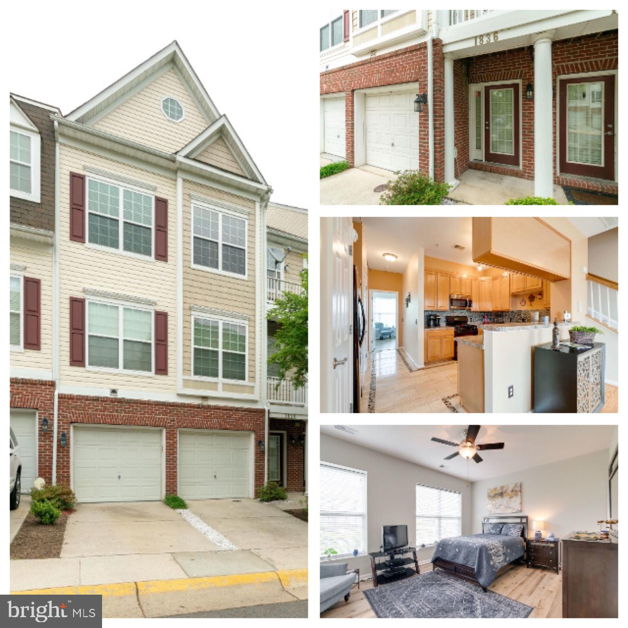 OPEN HOUSE FOR SATURDAY MAY 18TH AND SUNDAY MAY 19 HAVE BEEN CANCELLED!!! Spacious & Bright Two Level Condo / Upper Unit with 1 Car Garage. 3 Bedrooms, 2.5 Baths, Second Floor Flex Space and Media Room/Den.  Separate Laundry Room Very well maintained.  Spacious Master Bedroom with Two Walk-in Closets.  Large Master Bathroom with Separate Shower, Dual Vanity and Tub with Shower.  Small Deck off of the Master Bedroom. Living Room/Dining Room with Refinished Hardwood Floors.  Kitchen with Travertine Tile Flooring.  New installation of Luxury Vinyl Flooring in Master Bedroom and Upper Level. HVAC& Hot Water Heater Less than 2 years old.  Garage Floor and Large Deck have been refinished.  Great Location just off of I-95 at Prince William Parkway. 2 Miles to the VRE Station, Easy access to Commuter Lots and all of the Nearby Shopping.