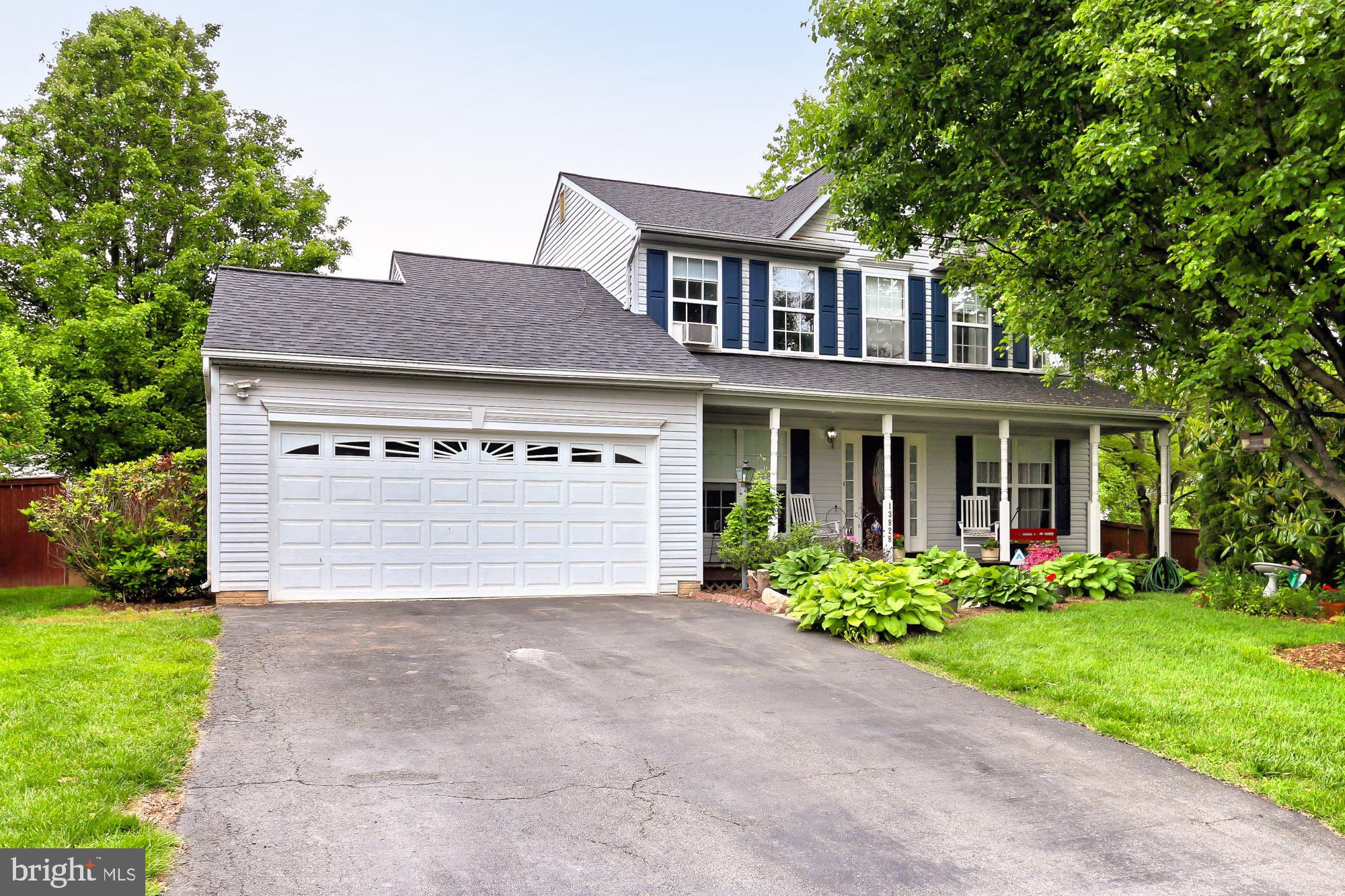 You always wanted to live on a cul de sac- peaceful and quiet-  no cars rushing by- safe for the kids and dog to play in the street out front- well here is your chance- Nicely updated Colonial with inviting front porch.  Enter into the distinctive hardwood entry and discover that the home boasts hardwoods thru-out main level but for the living room. Step over to the living room with crown molding and bright double windows overlooking the front porch. Then come thru the separate dining room with of course hardwood flooring.  Yes the sparking updated kitchen is next with very recent Samsung stainless steel fridge, six burner gas stove & built in microwave. New granite counters (2017).  Don't miss the pantry closet or the handsome tile backsplash.  There's plenty of room to put a table or you can pull up some stools to the large counter like the current Owner.  Adjacent to the kitchen is the spacious family room with gas fireplace.  Other notable parts of the main level include a separate washer and dryer area with 2018 Samsung high quality front loaders.  Also there is a convenient updated half bath off the hallway with pedestal sink.  Moving upstairs to the master bedroom suite that is nice sized and boasts his and her walk-in closets.   Then check out the newly remodeled luxury master bath.  Everything in the bathroom has been upgraded except the tub.  This bathroom boasts double sink, separate tub and shower, ceramic tile flooring and shower/tub surround.  Two additional bedrooms upstairs away from the master and a hallway full bath with ceramic tile.  You may have noticed that we have all new plumbing fixtures thru-out the home.  Head down the stairs to the lower level recreation/game room.   The bar in the recessed area will convey.  Truly convenient full bath with shower off the recreation room.  Don't miss the den/studio with built-ins.  With the sun out here let's look around the backyard.  Good sized wood deck, expansive brick patio, totally fenced rear yard.