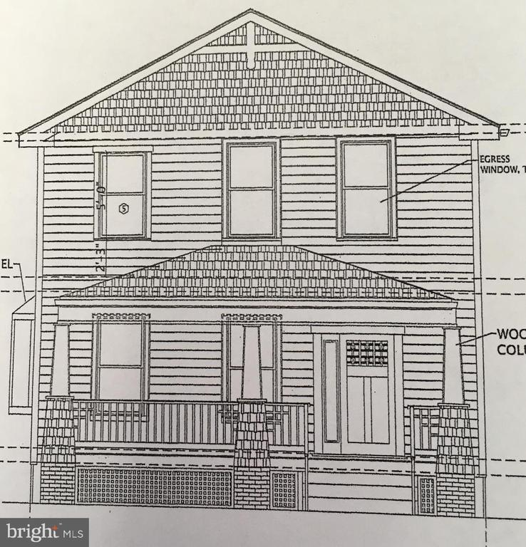 Energy Star certified home to be built by Shivani & Co., Inc., Llc.  3 Bedroom, 2.5 bath in Baltimore City neighborhood Woodbourne  Heights.  Please see attached floor plans and elevation which are  for a larger home, 2,080 sq.ft., which could be       built for $299,000.00.  L/B to hold deposit.