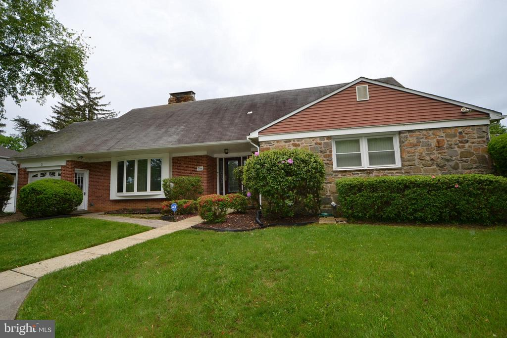 Rare opportunity to own a unique well-built spacious brick home in prime Cheswolde neighborhood, Nearly 1/2 acre lot, hardwood floors throughout, new front door, large living room with stone fireplace. 2 zone heating and AC. Full lower level with space to add more bedrooms and clubroom. See and make offer!