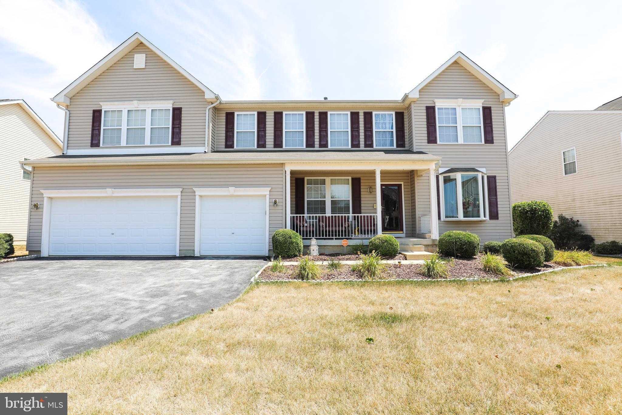 Are you ready to entertain this summer? Nestled in a quiet community, this is spectacular home with 6 bedrooms, 5.5 baths and a 3 car garage filled with over $70,000 in recent upgrades. It boasts a wonderful first floor plan featuring hard wood floors, a formal dining room, living room, and an eat in kitchen. The kitchen boasts a large island, 42in cabinets, and ample storage. The family room has a gas fireplace to use during those cool nights. There is an enormous loft upstairs that is currently being used as an additional entertainment space. The master bedroom has 2 walk-in closets and a sitting area. Owners retreat features an oversized walk in closet, large garden tub with whirlpool jets, master bath has upgraded ceramic tile. Very spacious bedrooms are also located upstairs and all are equipped with walk-in closets and laundry on second floor. Finished basement adds over 1,000 additional square footage, including a basement walkout to secluded backyard that backs to trees. For your entertainment the lower level has a finished recreational room/den. That backyard boasts a shed and gazebo, and deck ready for summer entertainment. This is truly an entertainer~s dream home and it won't last long, so schedule your appointment today!