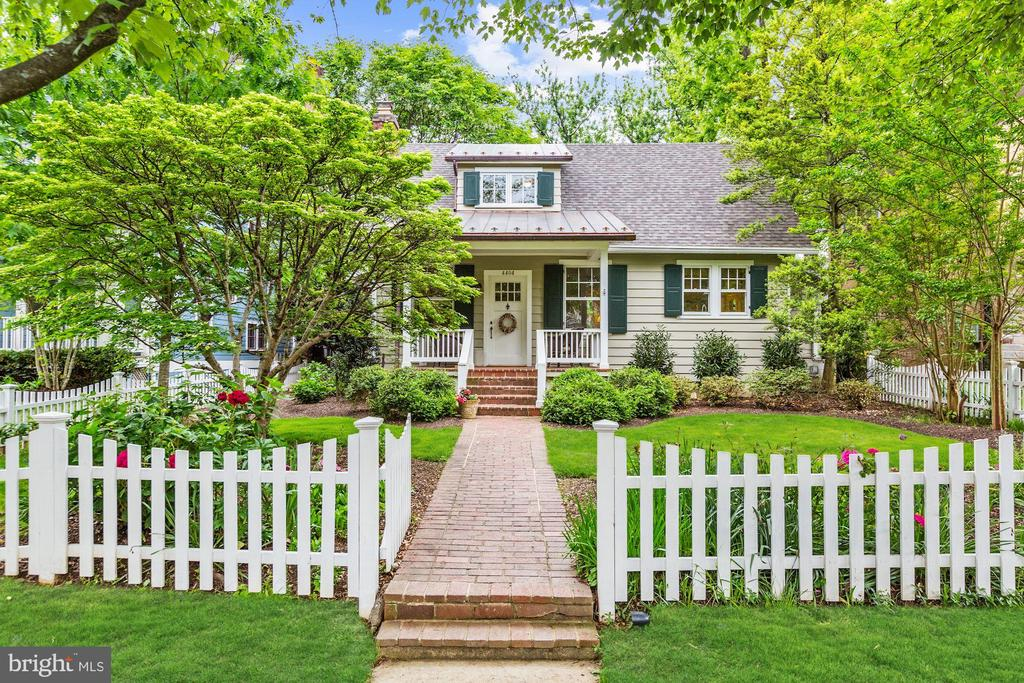 Still accepting offers. Charming bungalow in the Town of Chevy Chase. Neighborhood blends small-town ambiance w/ convenience of nearby city living. Main level includes family rm addition w/ cathedral ceiling, FP & access to rear patio, formal dining area, gourmet KIT w/ built-in bfast nook & living rm w/ gas FP.  Master suite is on main level w/ his & her closets, private sitting rm & spa-like bath. The spacious upper level contains 3 BD/2 full BA. LL is well-equipped w/ recreation room, full bath, large storage/utility rm & game/billards rm.  The home is unbelievably convenient to Trader Joes, Target, Washington Sports Club, the Bethesda Post Office, the Farm Women's Market, Capital Crescent Trail and downtown Bethesda (with its Metro stop).  Also, only six blocks from the Lawton Center, including full-court indoor and outdoor basketball courts, a weight room, a child care center, playground & two tennis courts.