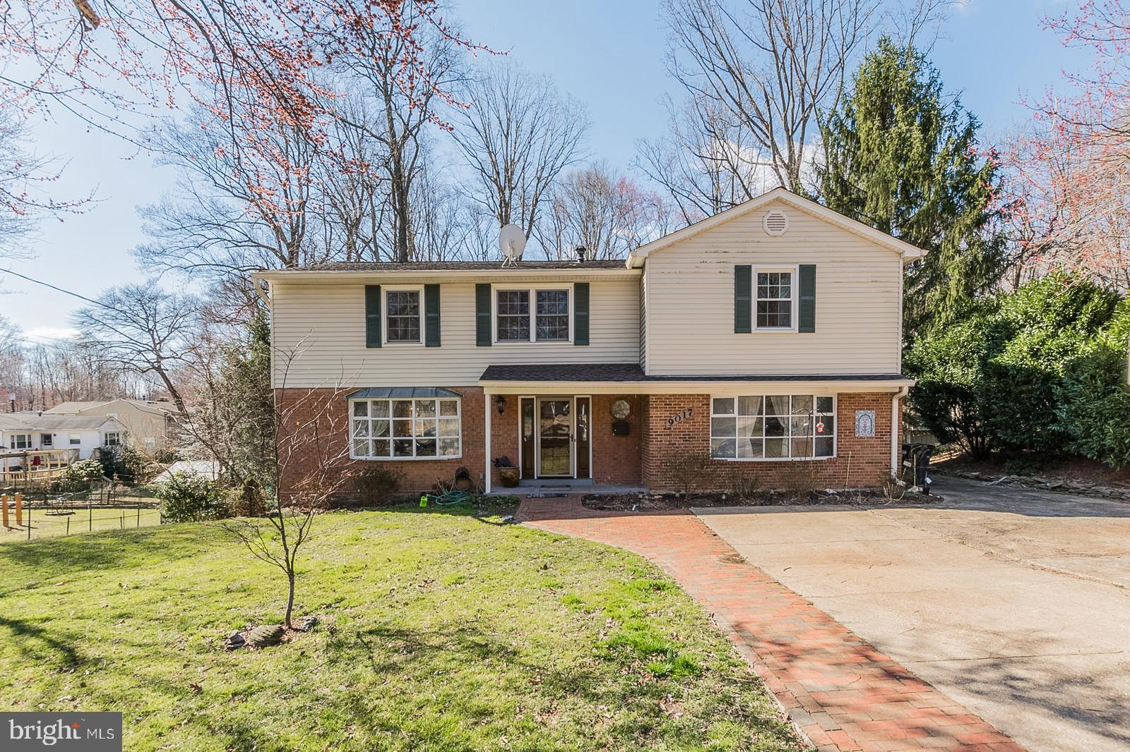 This is a must-see home with special features. Come just to see the view of the majestic Fairfax County park-lands that adjoin the back yard. The property location is close to sought after Canterbury Elementary and Woodson High school. Extremely Close to several shopping plazas and adjacent to the Metro bus stop (with Express Service to the Pentagon and Crystal City) connection. Minutes from I-495.Inside, a large family room with wood burning stove, and a remodeled kitchen are part of a walk-around design that includes three bay windows with window seats and access to a large deck. Both the deck and the master bedroom upstairs are among the spots where you will enjoy the natural views of woods and creek behind the house. There is a fully finished basement with 4 closets and built-in cabinets and shelving units. Upstairs 5 bedrooms include 3 walk-in closets and 2 master bathrooms. The master bedroom has 2 closets and attached master bathroom, four large built-in cabinet units, and the most glorious view in the neighborhood. New Windows (2014), Roof (2103), HVAC (2012), HW Heater (2008), Kitchen Remodeled (2016), and many other improvements over the years. Community pool available with purchase of membership