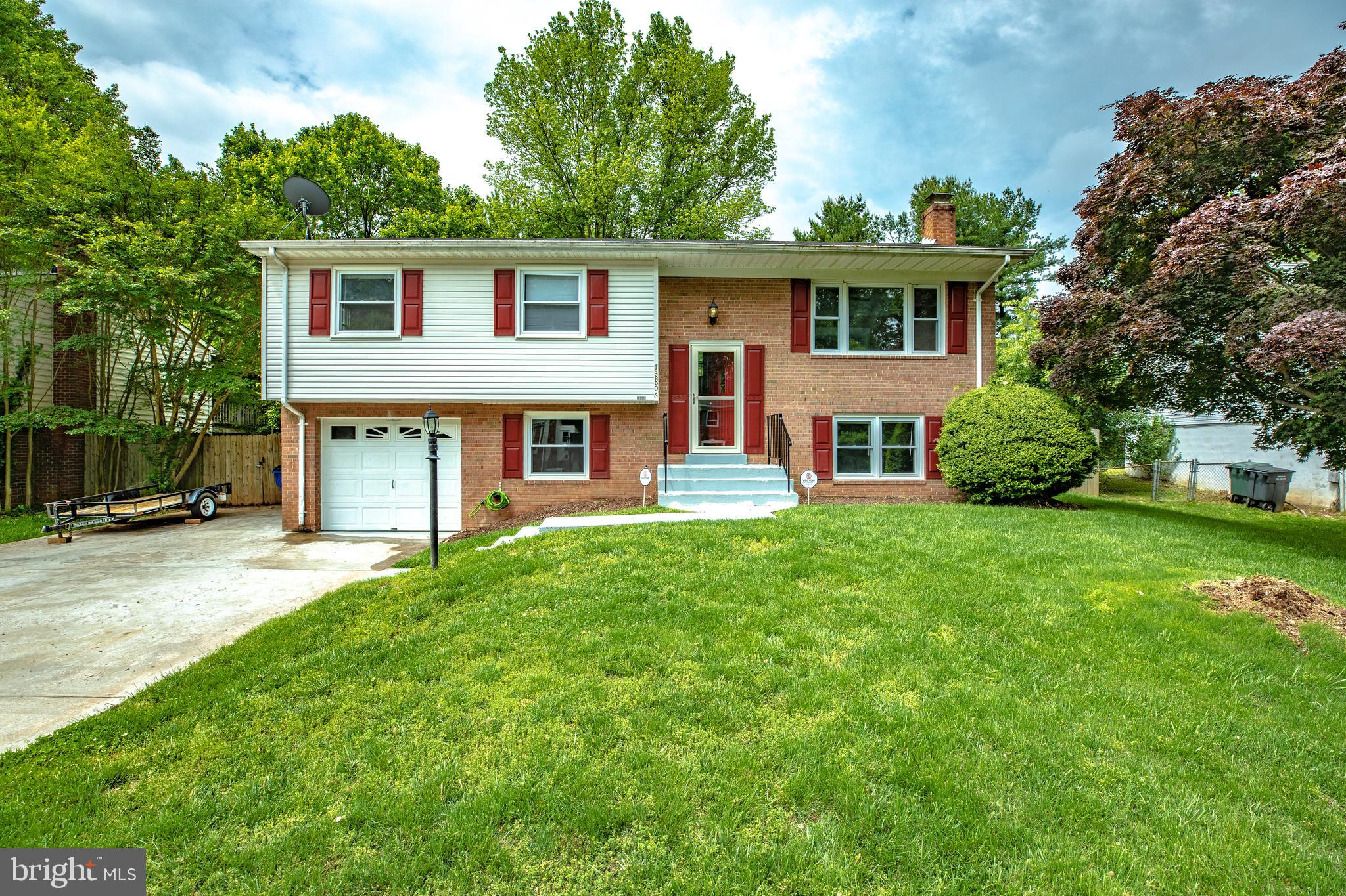 Upgraded Surry model 1900 sq ft FP,deck, extended concrete driveway,nice yard cs will have new paint, appliances,flooring,new baths,convenient to shopping,Potomac Mills, I95,schools. This will be a turnkey.