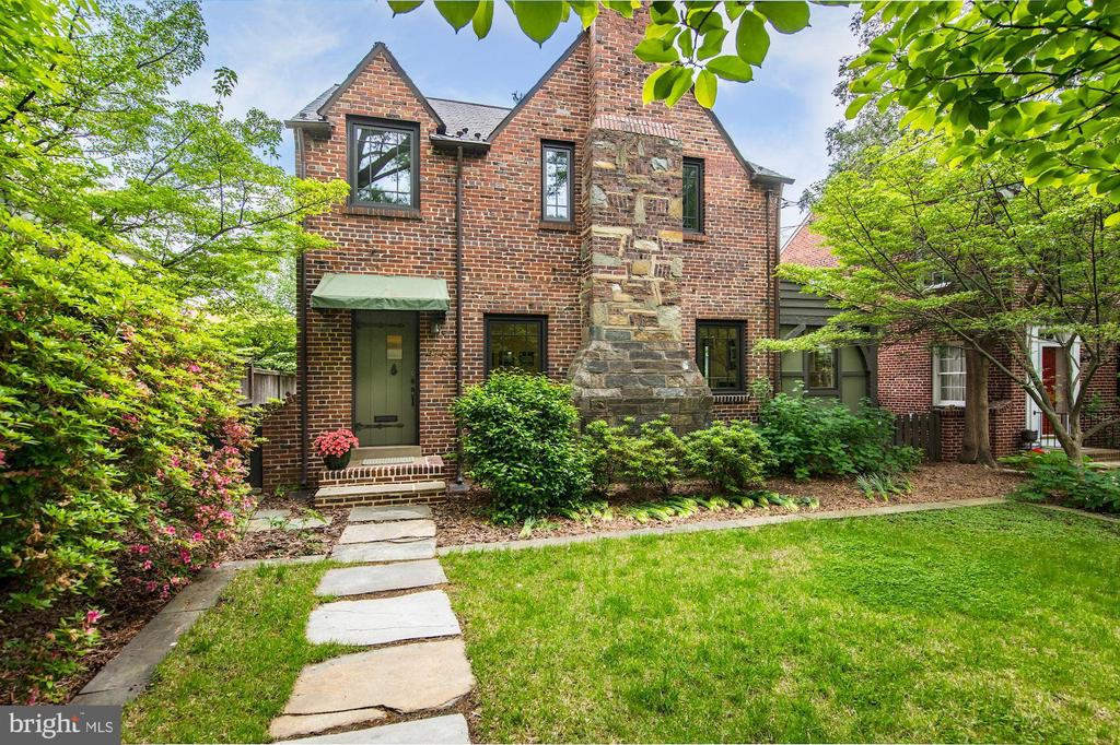 Beautiful 3BR/2.5BA brick Tudor revival home situated on a spacious level lot in the quiet American University Park .    OPENS CANCELLED !!!!