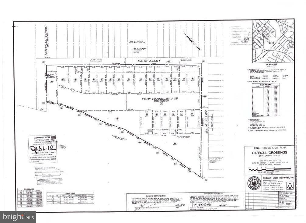 2595 CARROLL STREET, BALTIMORE, MD 21230