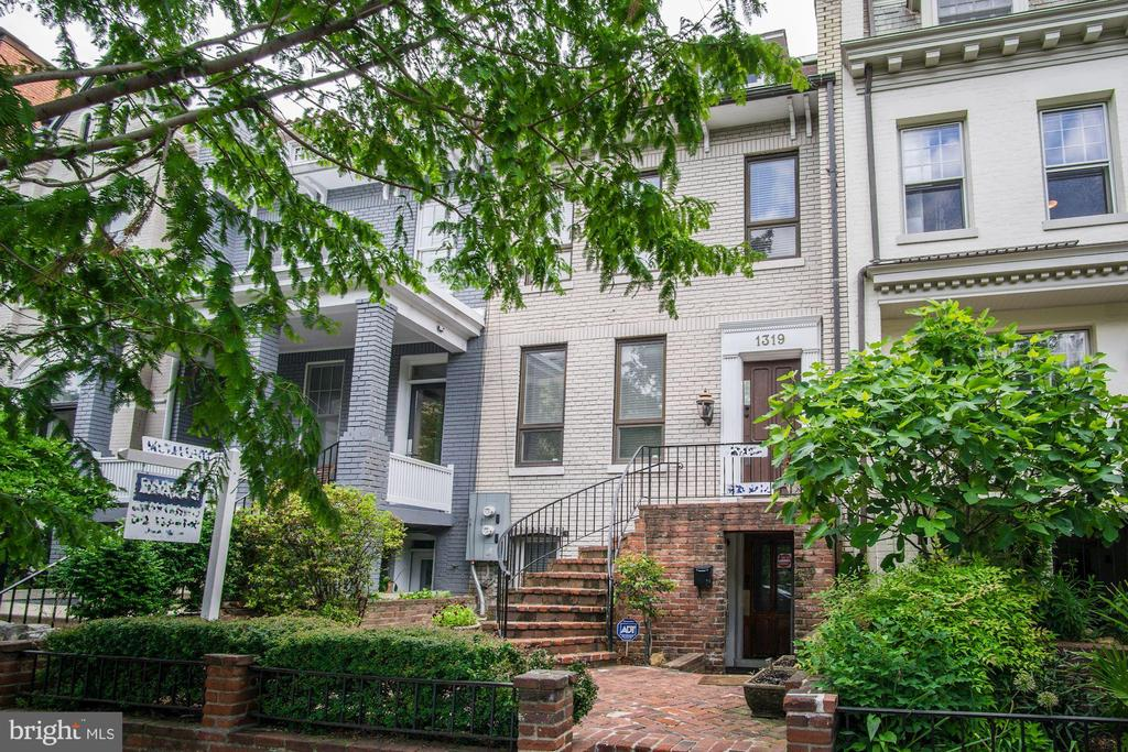 Stately, expanded 2-Unit Federal in Prime West End, near George Washington University, World Bank/IMF/State Dept Headquarters! Captivating location attracts prime rental income: Main 2408sf 3-Bedroom 2.5-Bathroom house rented for $7700 or  $92,400 in 2016. Lower recently-remodeled 2-Bedroom + Den/2-Bath rented for $4000/month or $48,000/year. 2-Car Garage, plus one driveway parking. Will be delivered vacant.