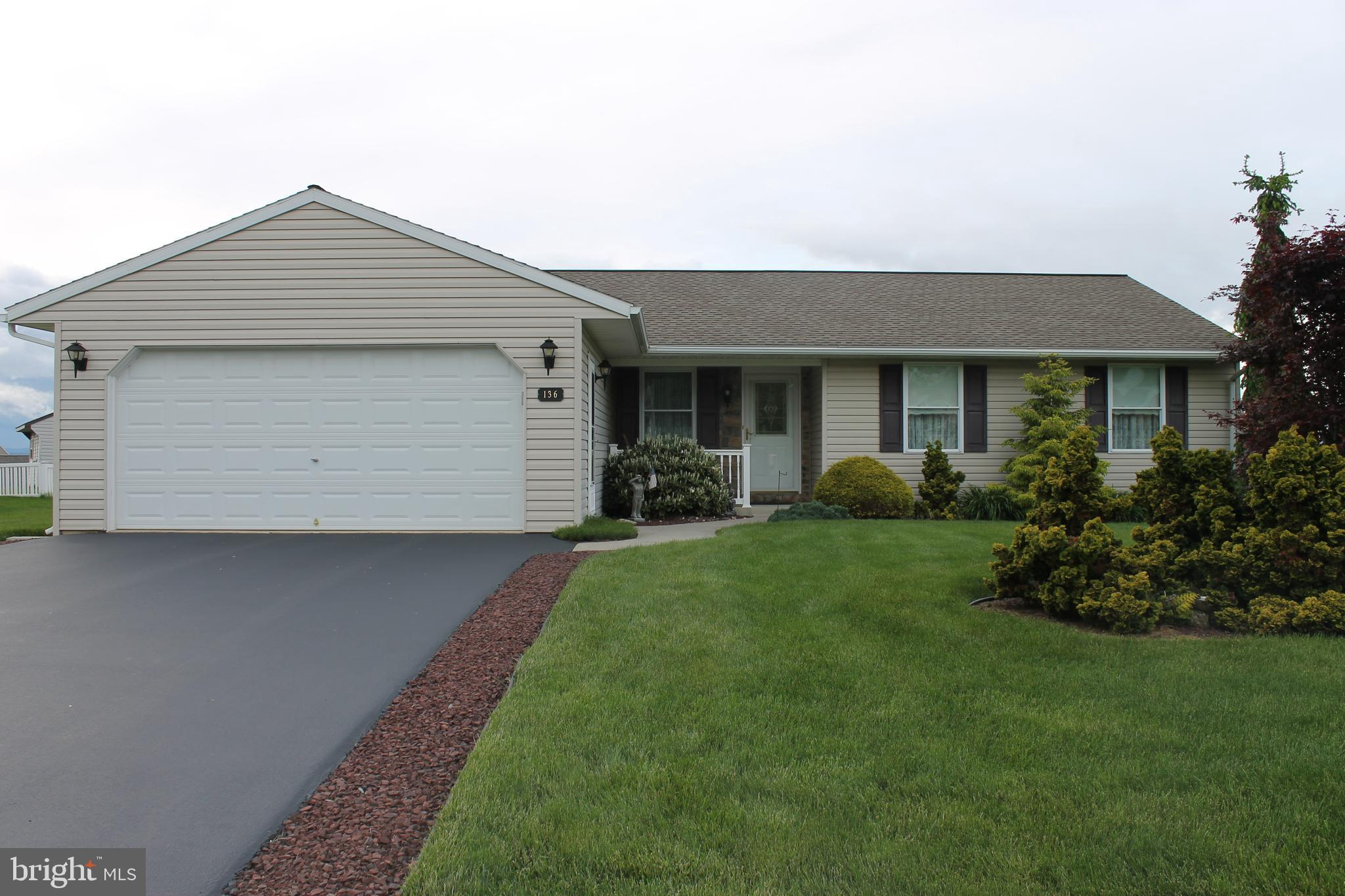 136 SWEETWATER LANE, NEWMANSTOWN, PA 17073