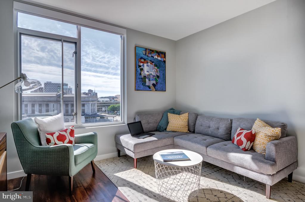 THIS 1 BR/1 BA UNIT IS AVAILABLE NOVEMBER 30! The Nelson Kohl Is One Of The Newest Developments In Station North, Boasting Open Floor Plans, Oversized Windows W/ Spectacular Views, Quartz Counters, Brushed Chrome Features, Wood Cabinets, And Plank Flooring. Washer And Dryer In Every Unit! Secure Lobby And Concierge, Parking On Site. One Block From Penn Station! Free Cable And High Speed Internet Included In Every Unit. Exercise Room Included! Enjoy Rotating Art Shows Within The Building, A Stunning Library And Game Room Opening On To A Roof Deck With The Best City Views!