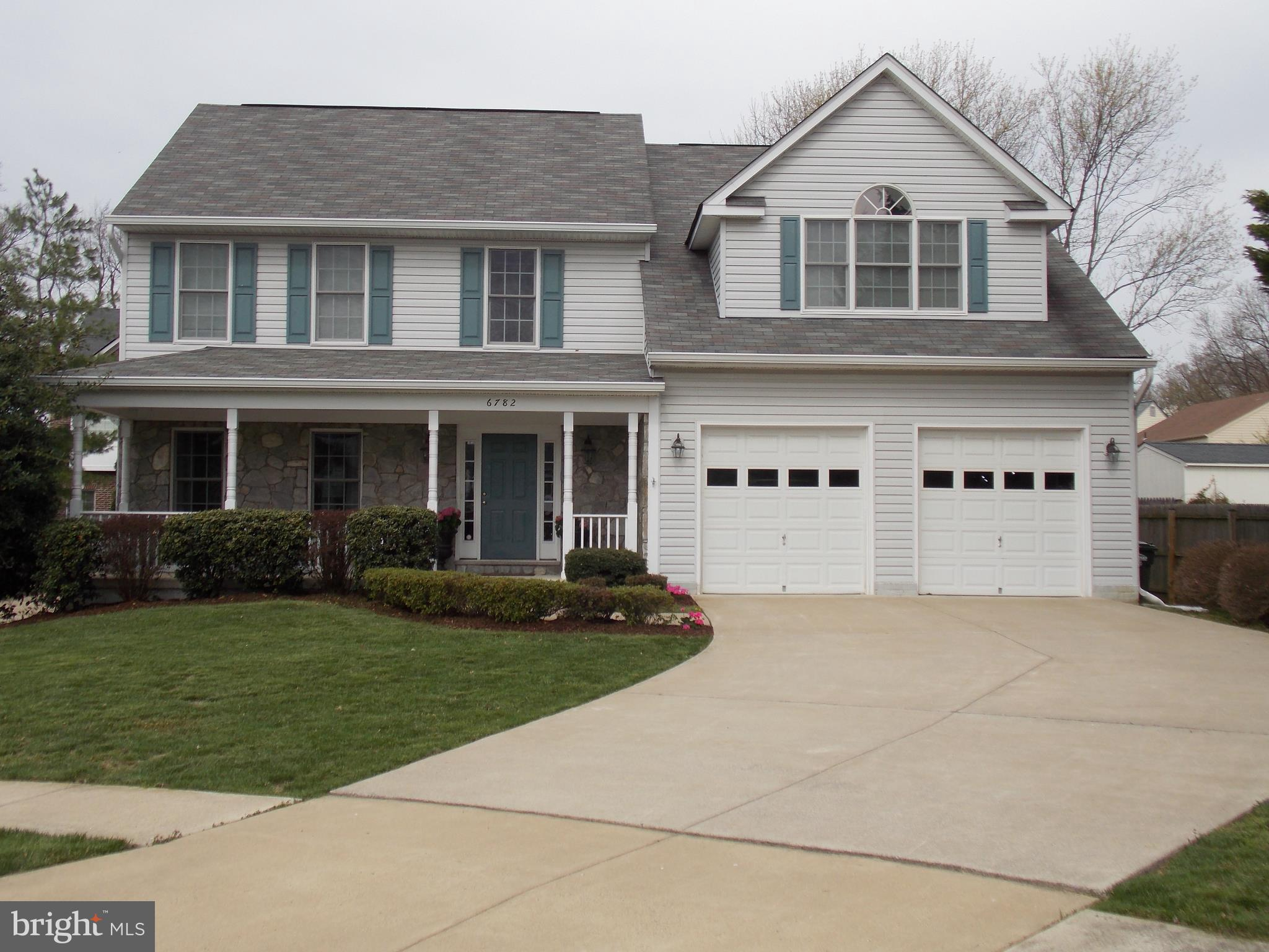 PLEASE NO PETS other than gold fish. No exceptions. Available July, possibly mid June! Large 3 level Colonial features 6 bedrooms and 3.5 baths, gas fireplace in the family room, recreation room on the lower level, large deck, master suite with attached bath and jetted tub, walk in closet, cathedral ceiling. Two car garage. Large partially fenced yard. Hayfield school district. This home has been meticulously maintained and offers plenty of space for a growing family. Currently tenant occupied. Please call for a showing appointment and allow for a 24 hour notice.Please note: Photos are accurate, but all appliances in kitchen are now stainless steel.