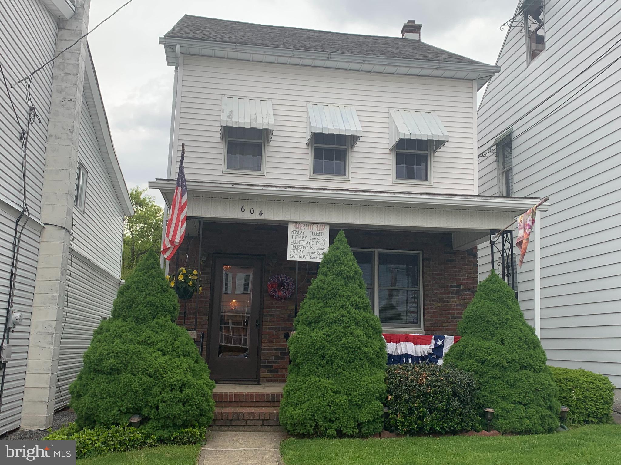 604 MCKNIGHT STREET, GORDON, PA 17936