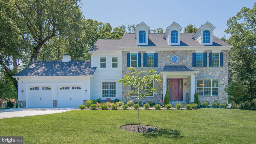 Award-Winning Wormald Builders on more than a Half Acre Cul-de-Sac Amazing Arts & Crafts Colonial, 7,145 Sq. Ft. including the basement. 3 levels, 5 Bedrooms, 4.5 Bath, Chefs Kitchen,Living room with Gas Fireplace, Owners' Suite with Walk-In Closets & Master Bath, 2nd floor Homework/Study Room, finished Loft, Finished lower level includes large Recreation Room, Exercise Room, One Bedroom & Full Bath. Fence, Playground, Driveway addition, Landscaping package, Stone retaining wall in the backyard, Outdoor grill Smart irrigation system, Smart outdoor lighting, Smart shades on all windows Marble floors whole first floor home, Gym, Home theater, Bar Stone, Fireplace.New flooring in basement Carpet on all steps, Stone patio, and steps, Control4 Smart System: Smart outdoor cameras, Smart security locks Smart garage openers, Smart alarm system, Smart televisions, Smart lighting, Smart indoor and outdoor speakers. Walking distance to everything Bethesda has to offer.